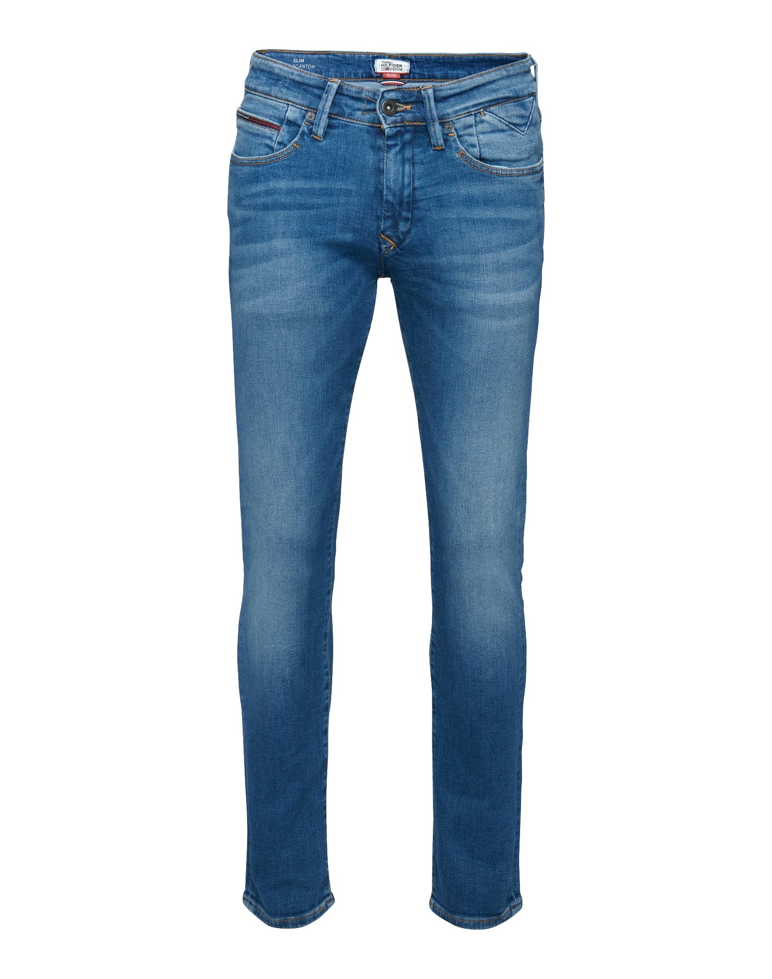 Džíny Scanton modrá džínovina Tommy Jeans
