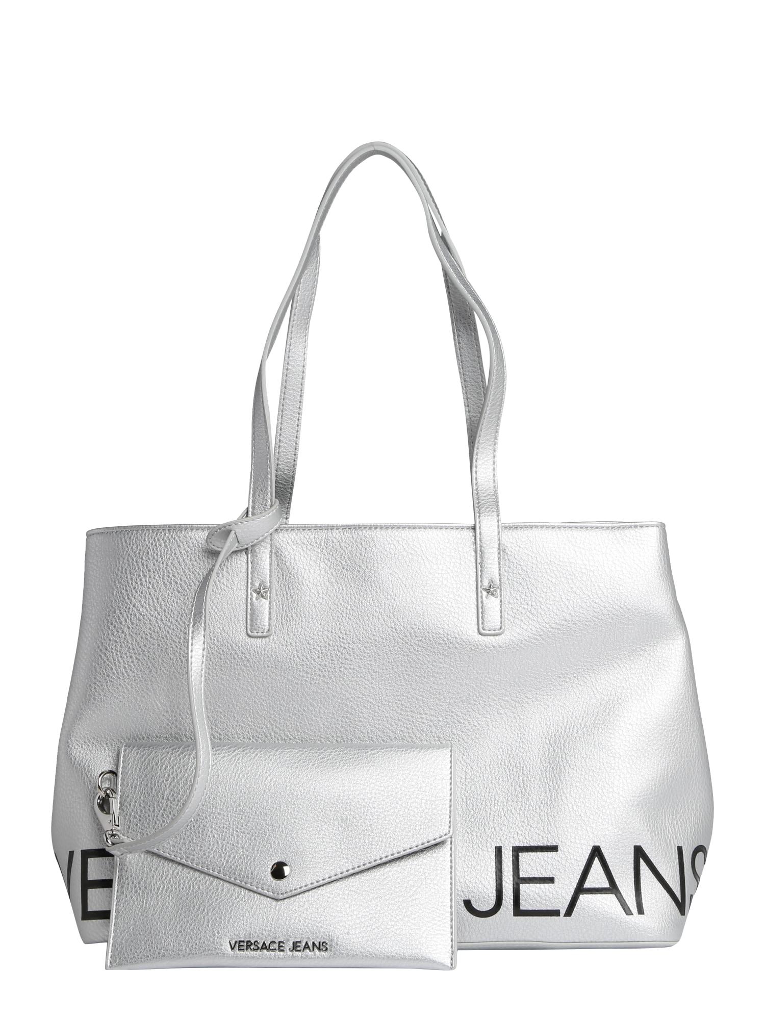 Kabelka VTBBB1 stříbrná Versace Jeans