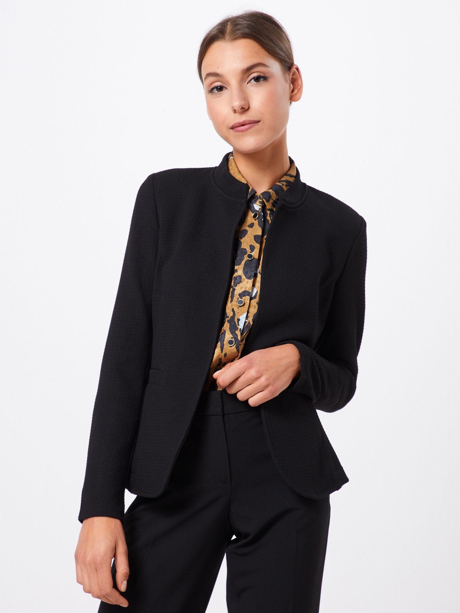 ESPRIT Kavaj 'Knit Blazer'  svart