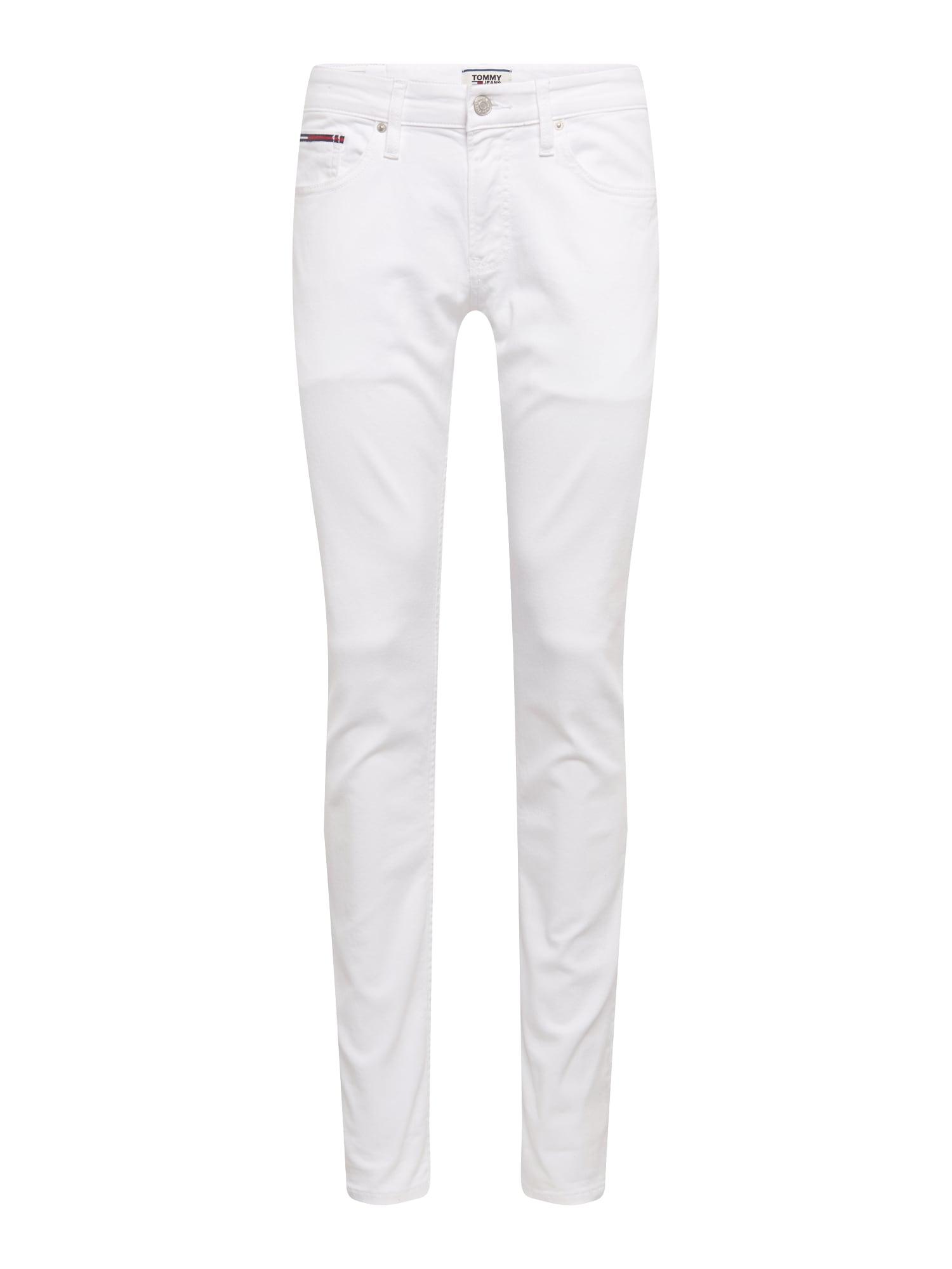 Džíny bílá džínovina Tommy Jeans