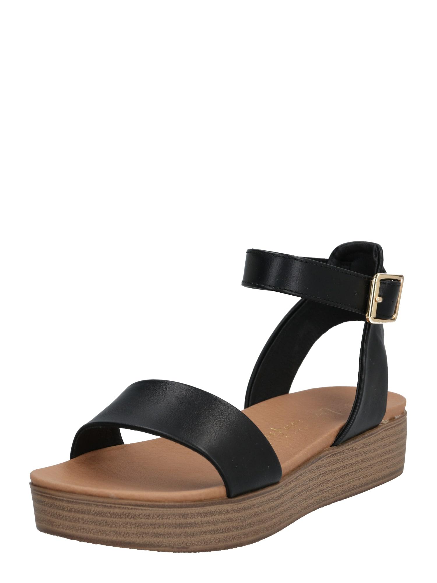 NEW LOOK Sandále 'GENIUS'  čierna