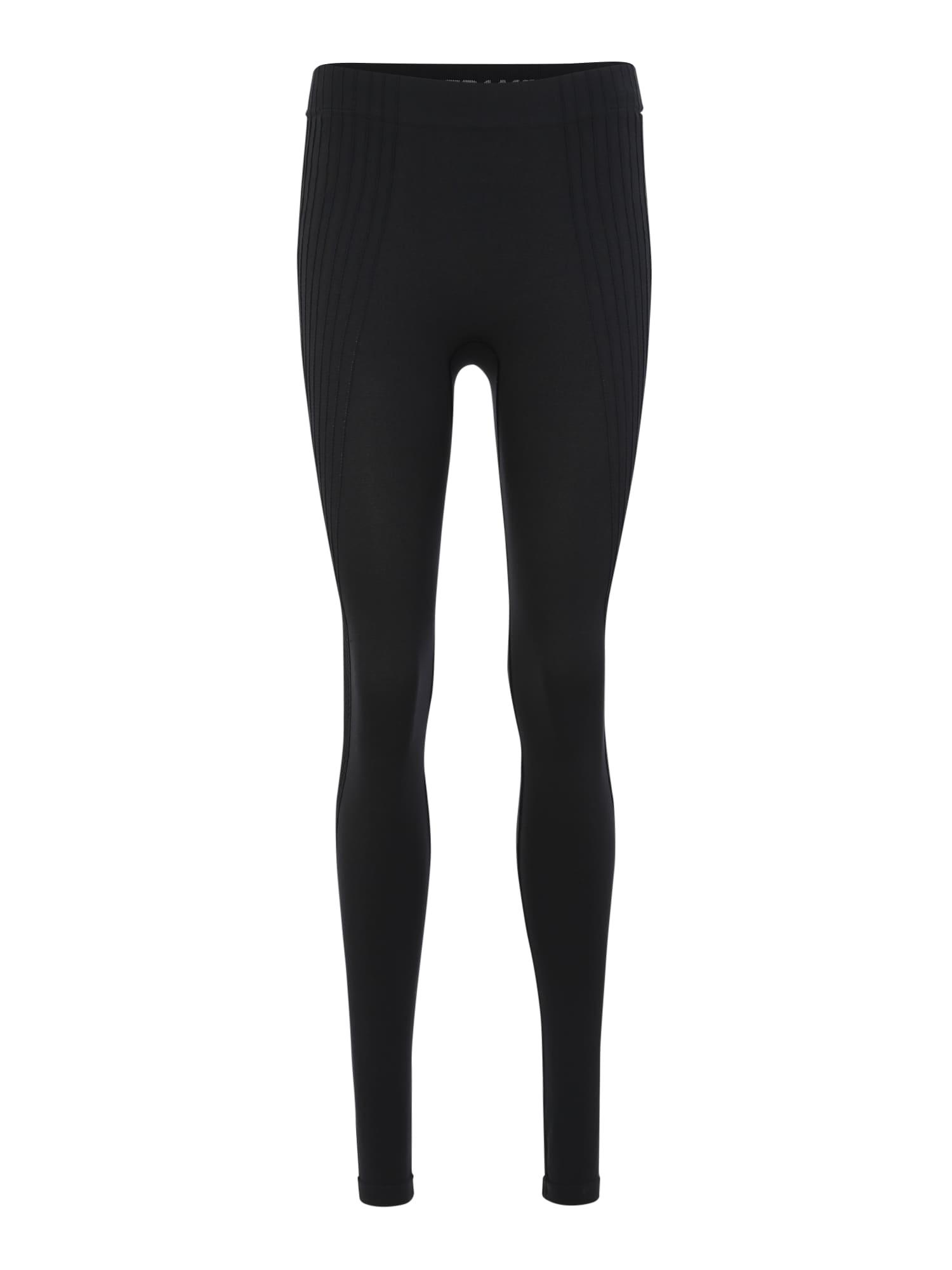 Sportovní kalhoty PURE CERAMIWARM černá ODLO