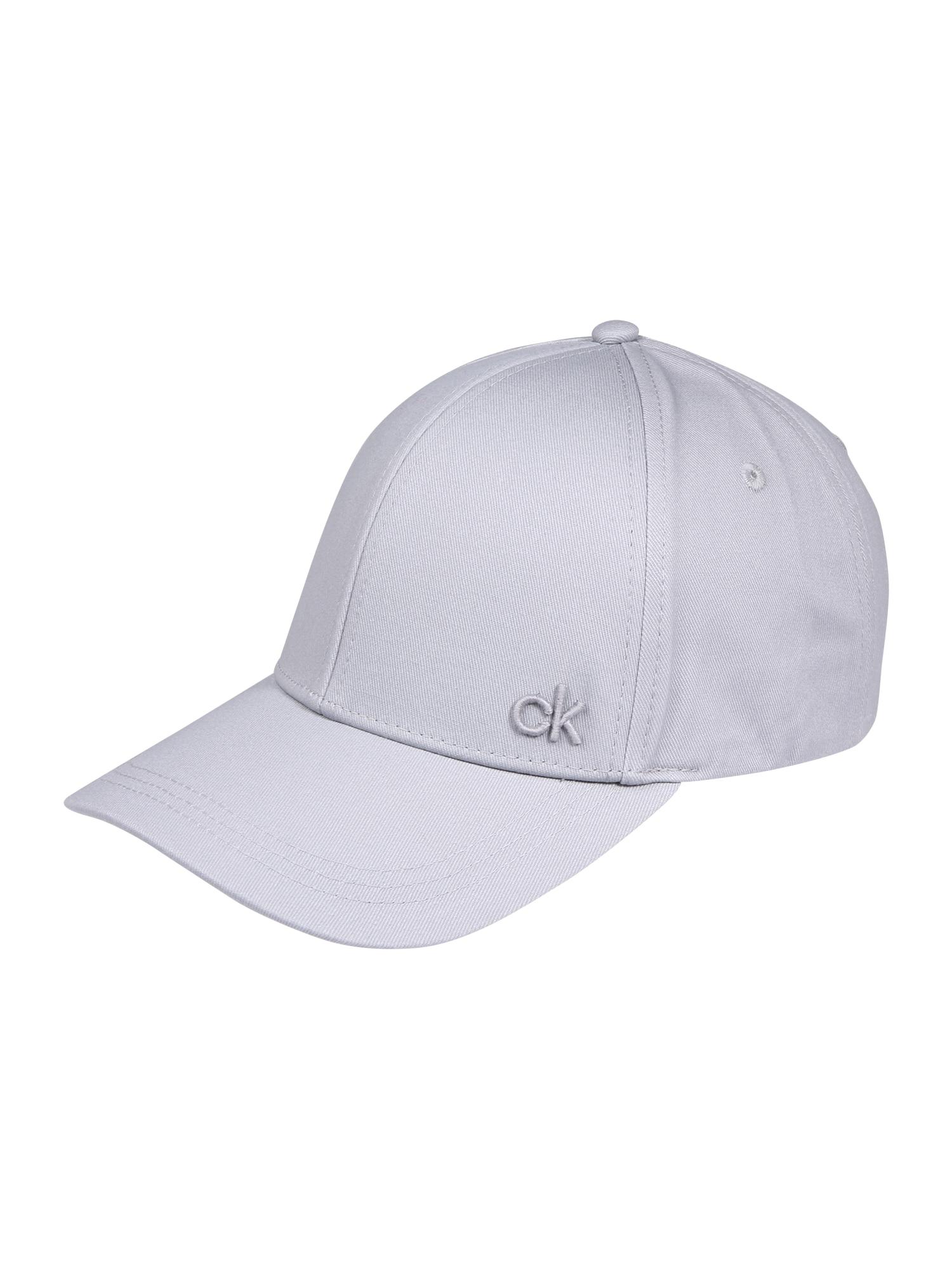 Calvin Klein Kepurė 'BASEBALL' pilka