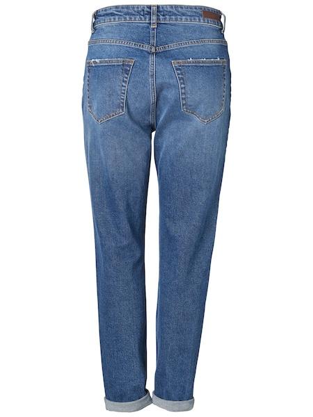 Hosen - Mom Jeans › PIECES › blau  - Onlineshop ABOUT YOU