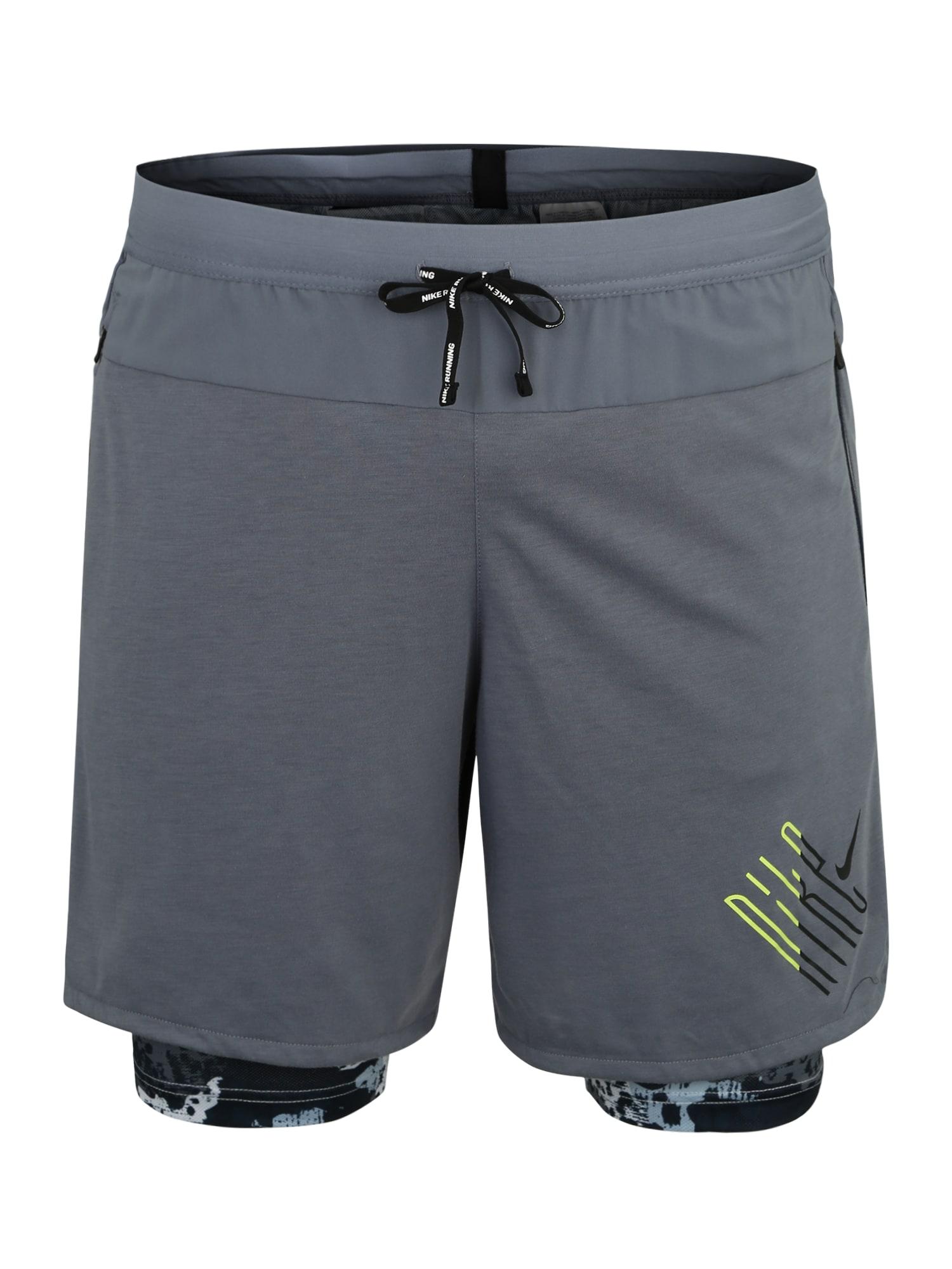 Sportovní kalhoty M NK WILD RUN šedá mix barev NIKE
