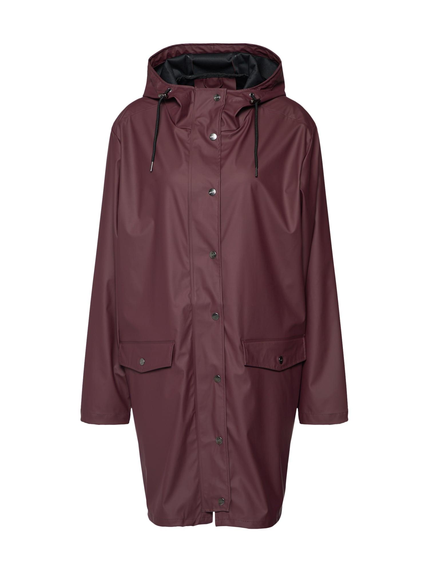Přechodný kabát Fabiola bordó Mbym