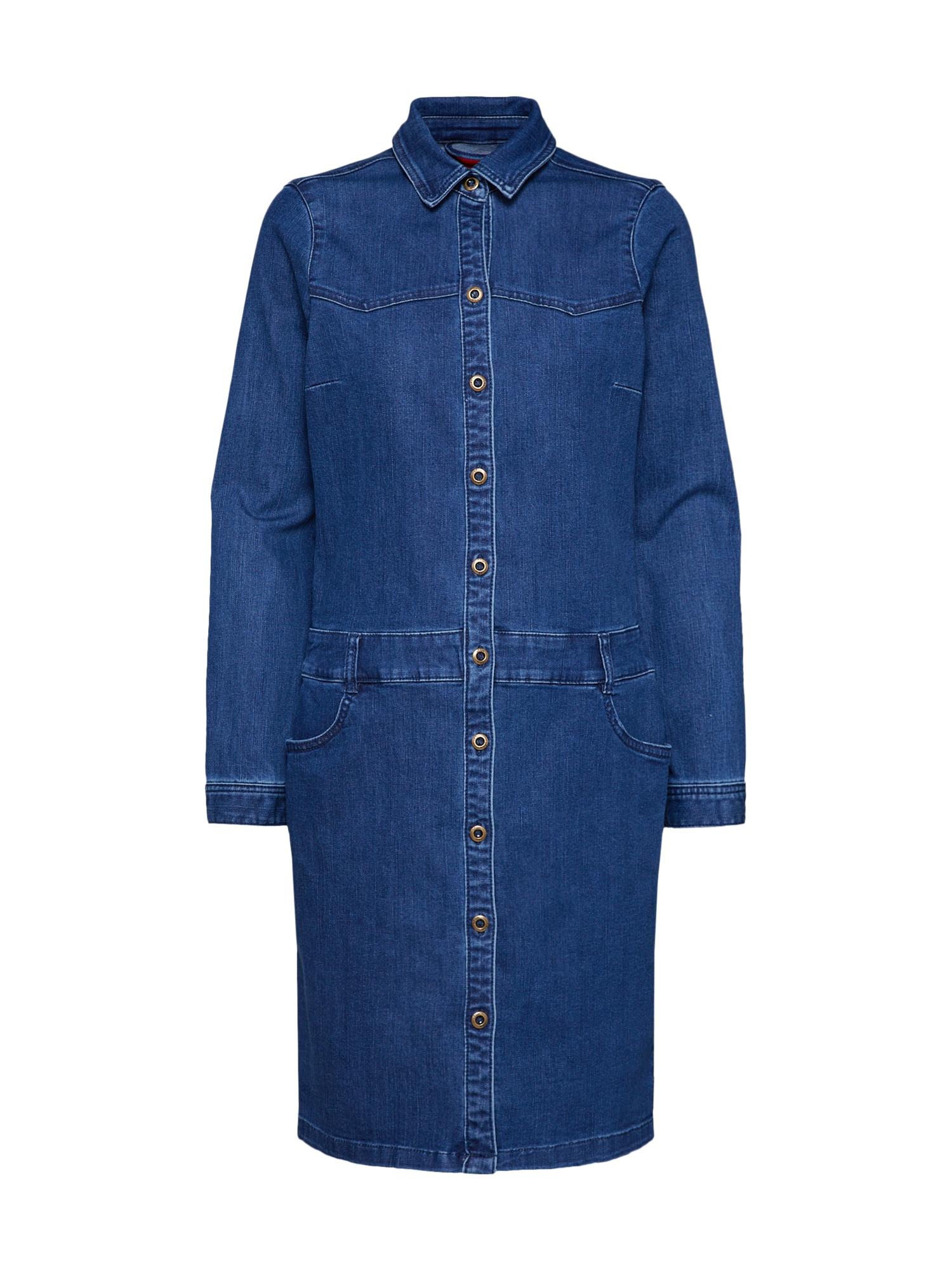 Šaty modrá džínovina S.Oliver RED LABEL