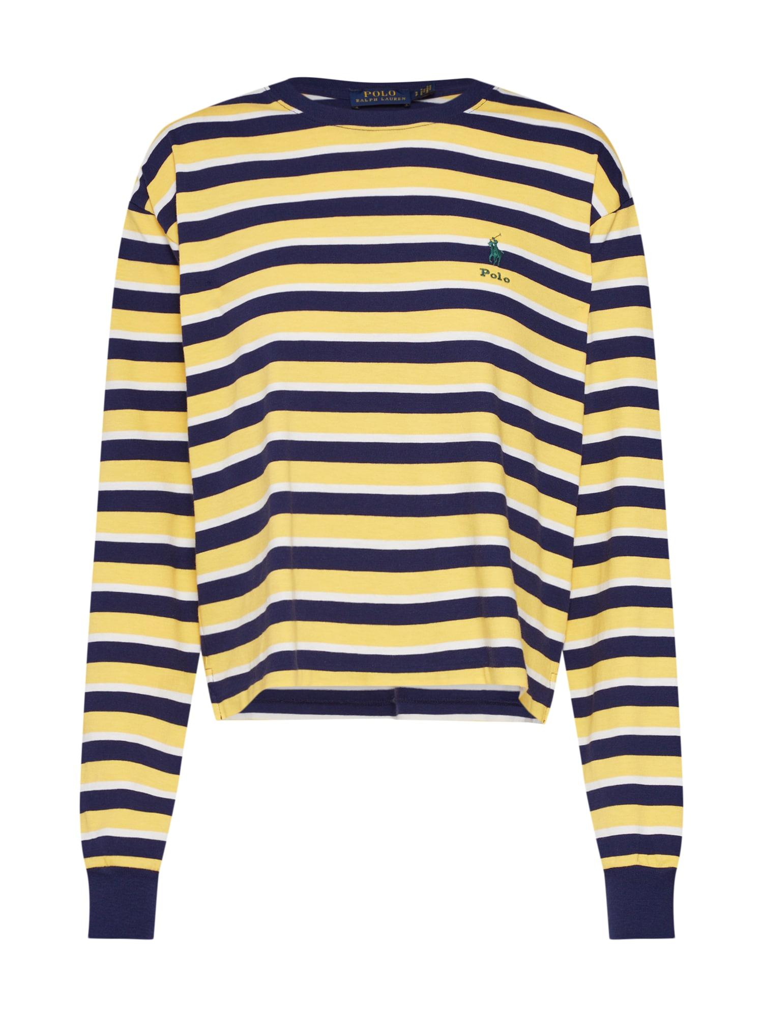 Tričko námořnická modř žlutá POLO RALPH LAUREN