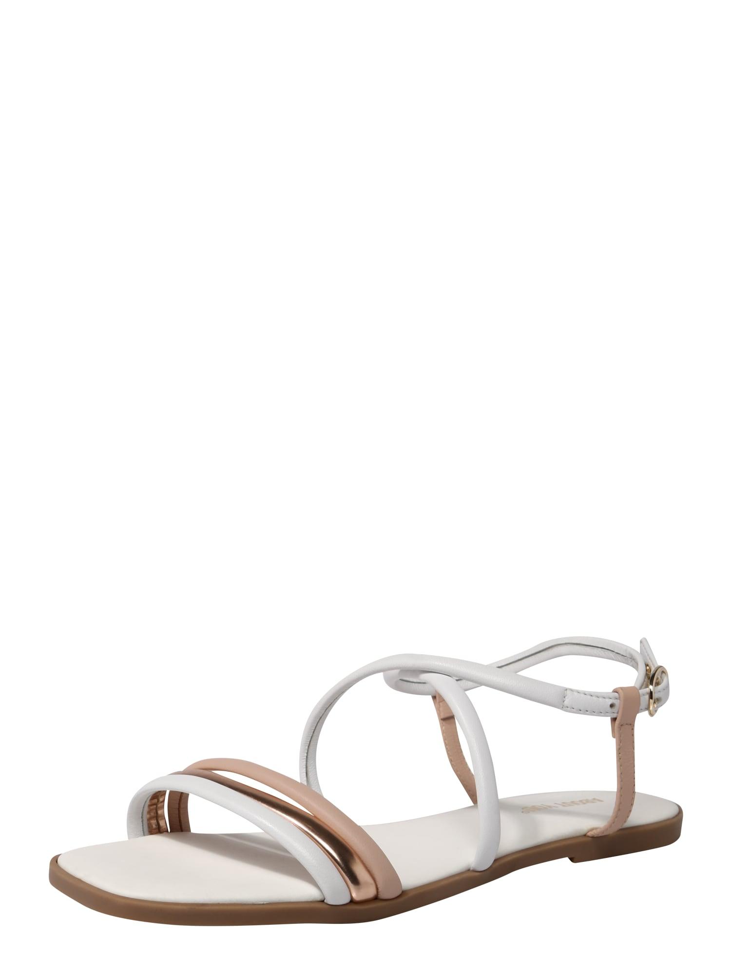 Páskové sandály Cara bílá ABOUT YOU