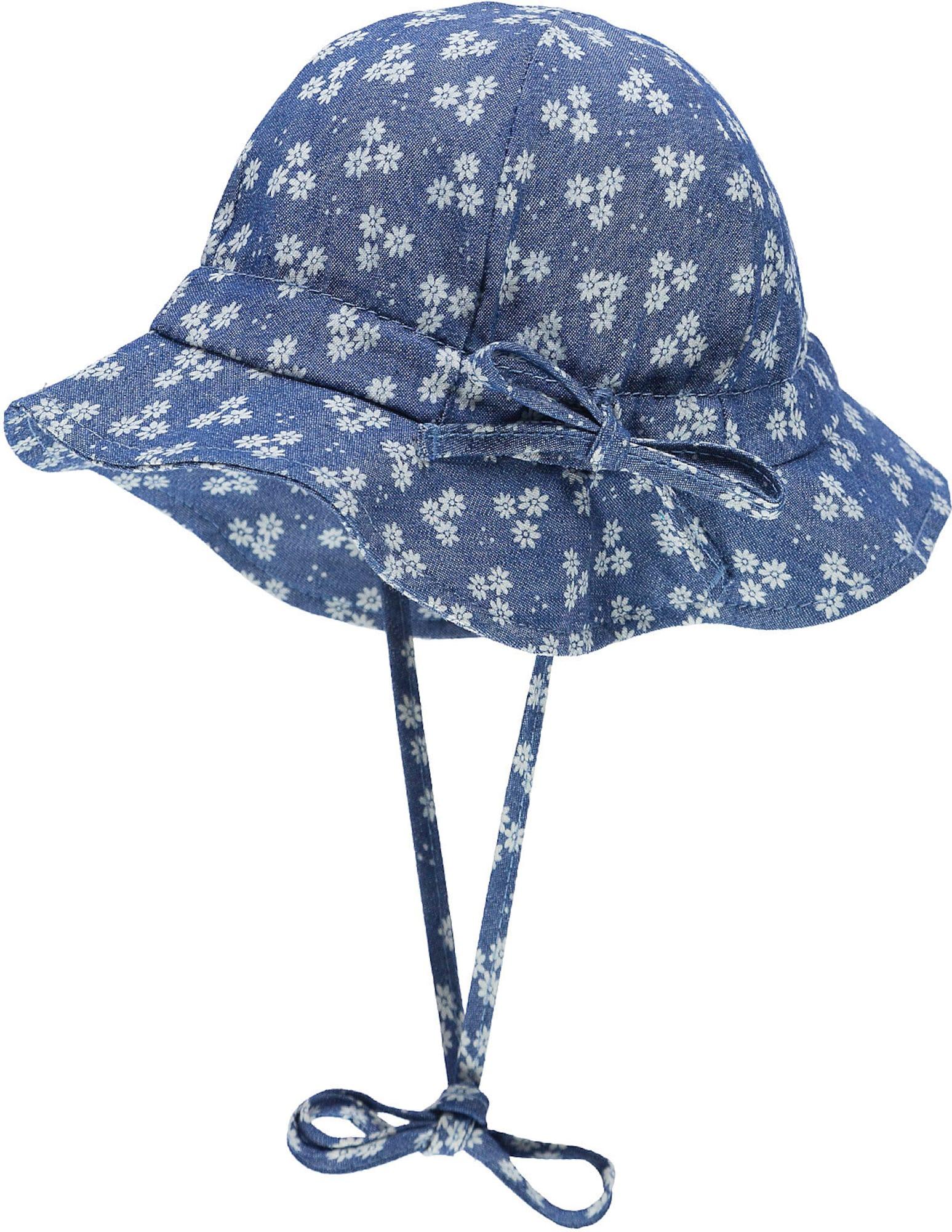 DÖLL Skrybėlaitė tamsiai (džinso) mėlyna / balta