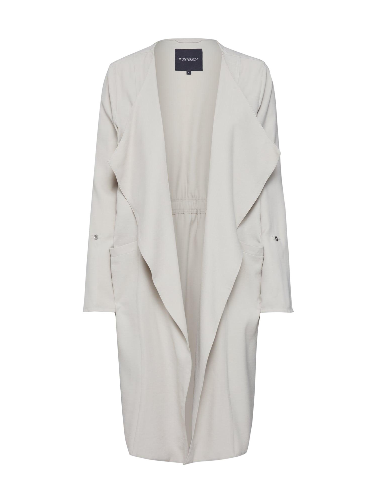 Přechodný kabát Cleora béžová BROADWAY NYC FASHION