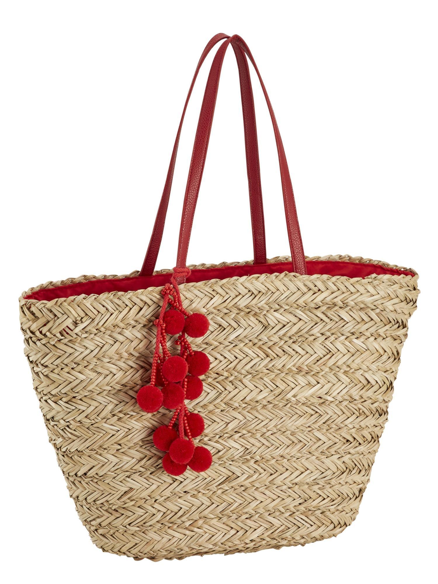 Damen LOEVENICH Strandtasche beige   04043376189357