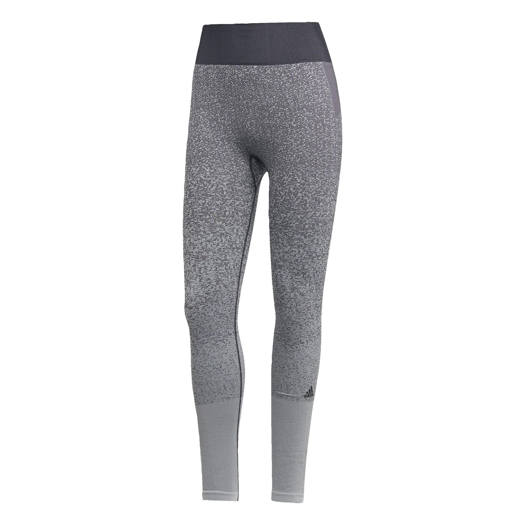 Sportovní kalhoty Believe This světle šedá tmavě šedá ADIDAS PERFORMANCE