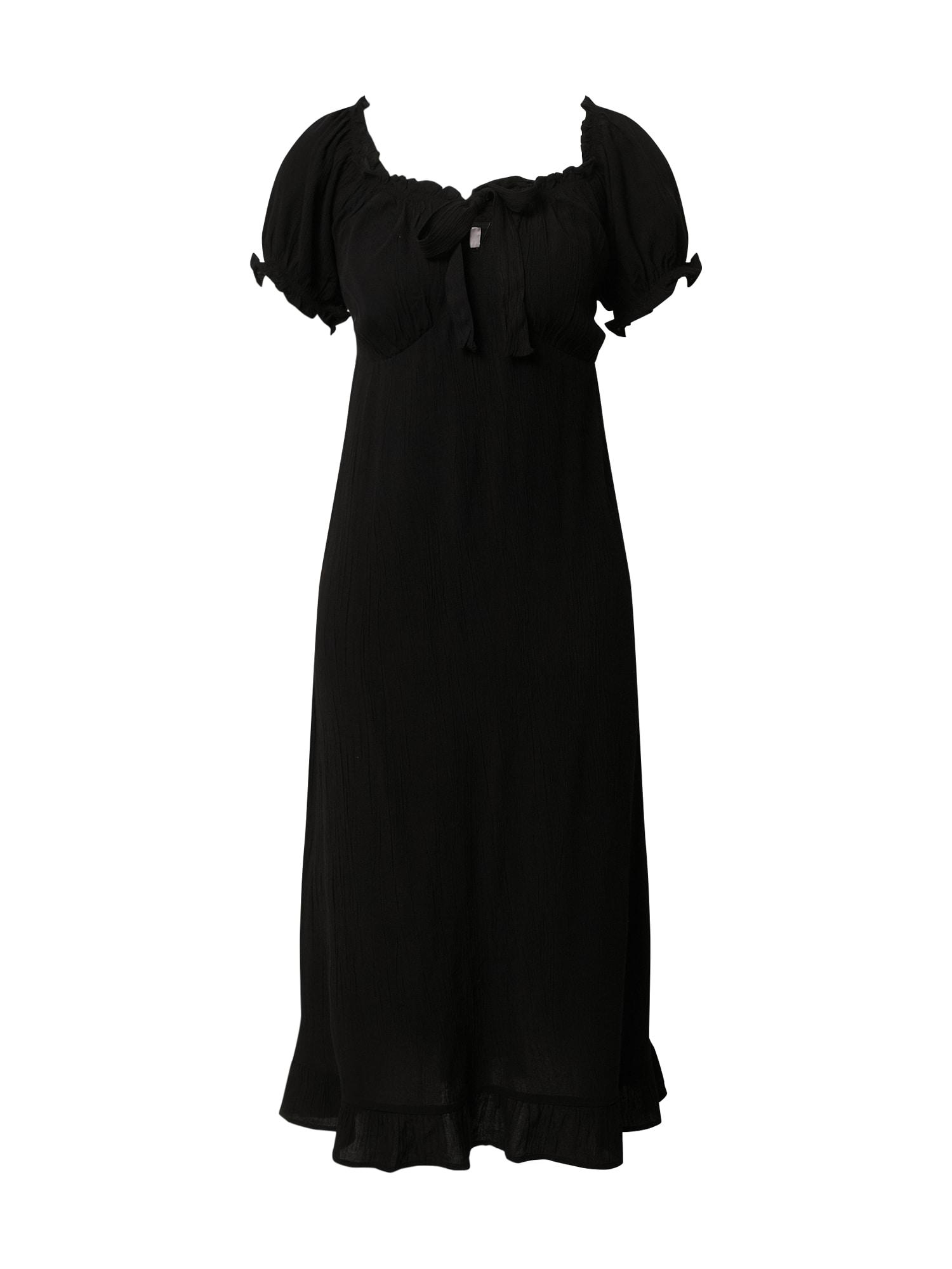 Dorothy Perkins Suknelė 'BLACK CRINKLE DRESS' juoda