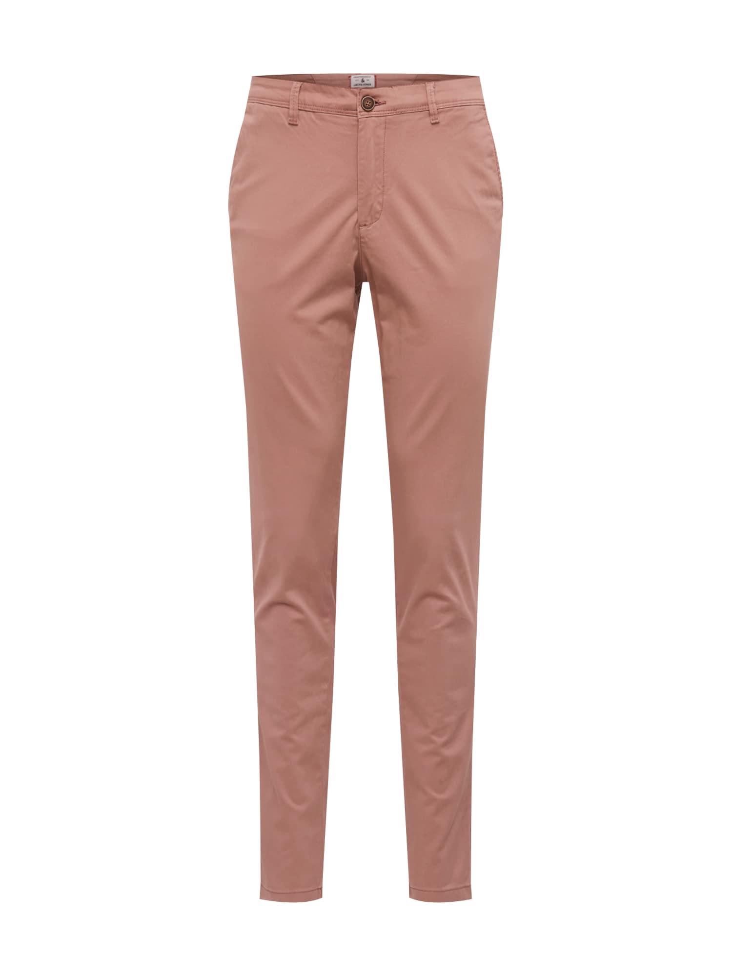 Chino kalhoty IMARCO pastelově červená JACK & JONES
