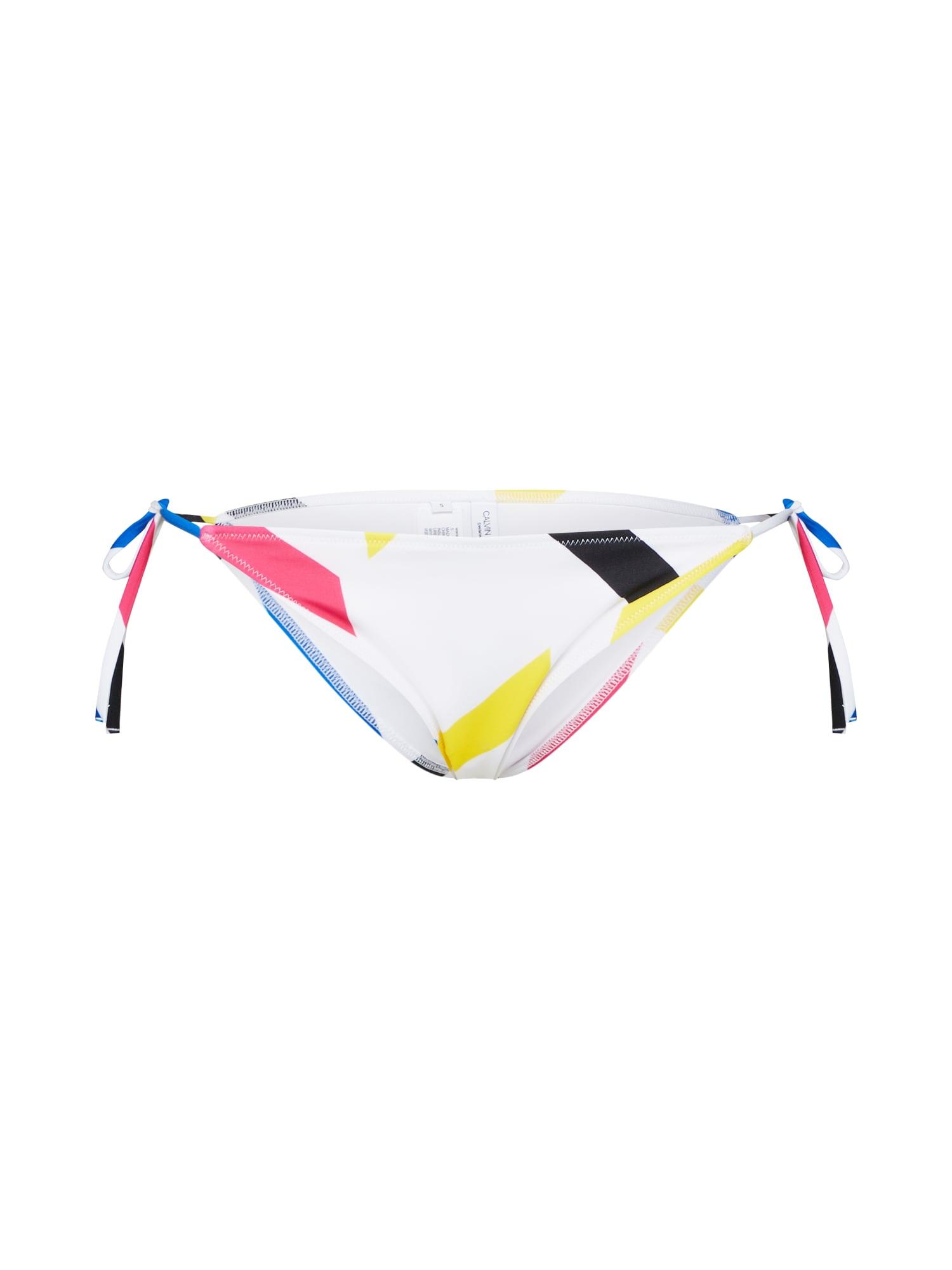 Spodní díl plavek Cheeky Side Tie mix barev Calvin Klein Swimwear