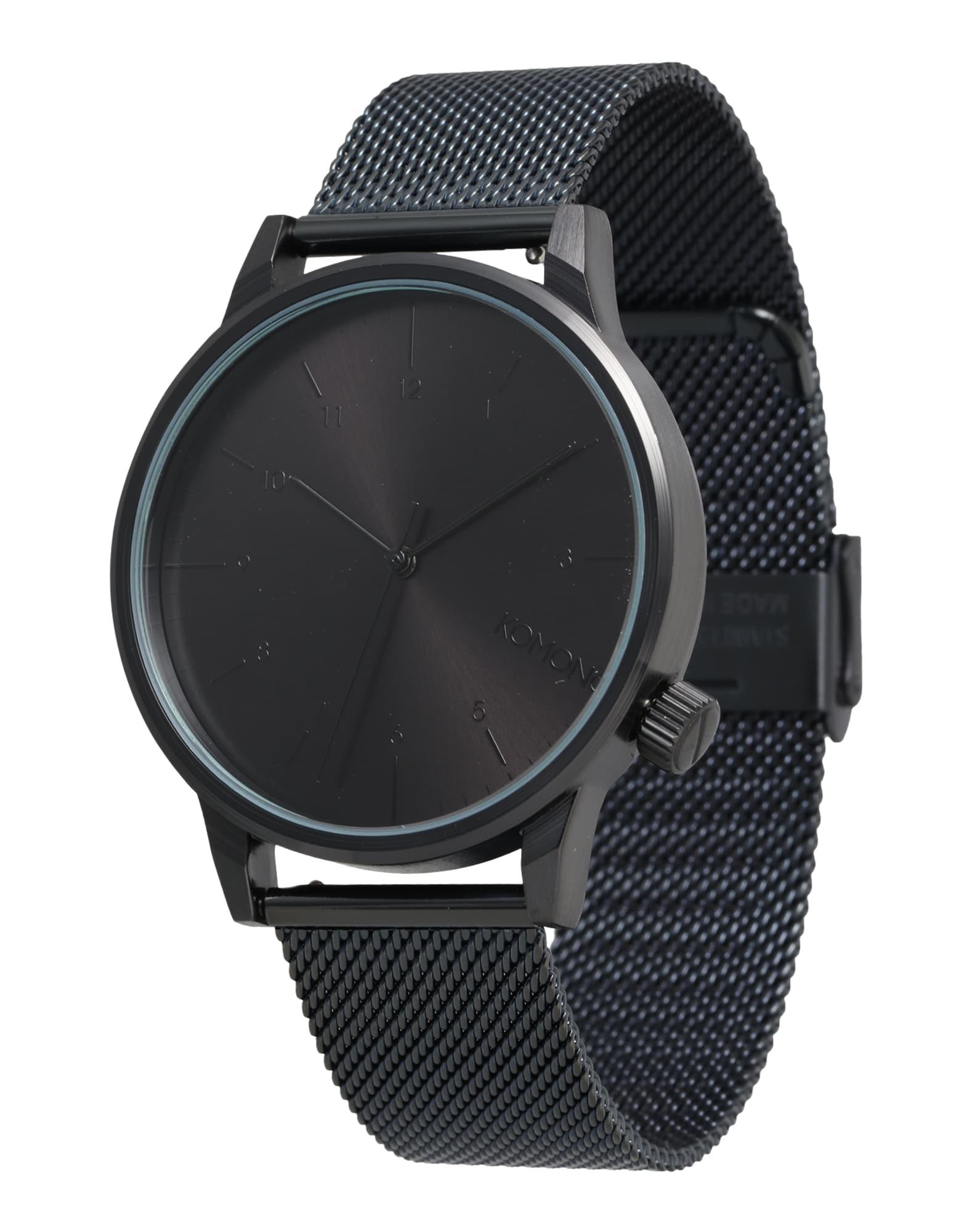 Analogové hodinky Winston Royale černá Komono