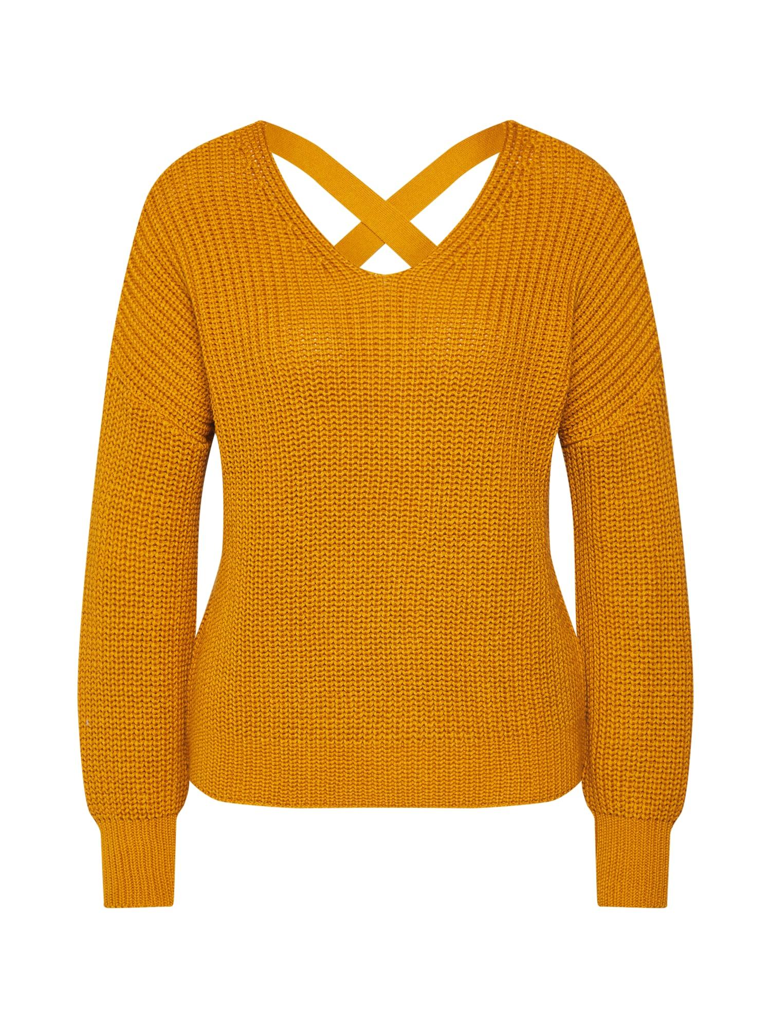 ABOUT YOU Megztinis 'Liliana' garstyčių spalva