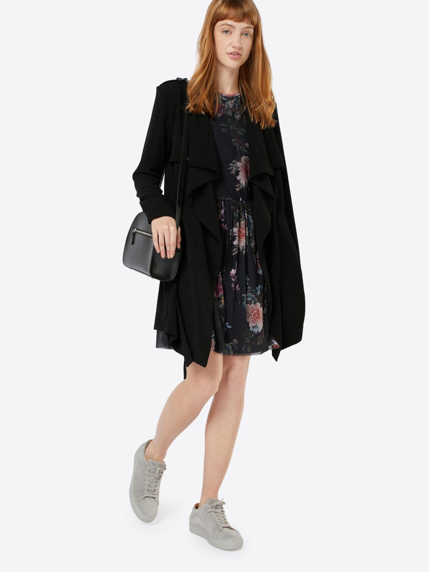 OBJECT Rudeninis-žieminis paltas 'OBJAnnlee' juoda