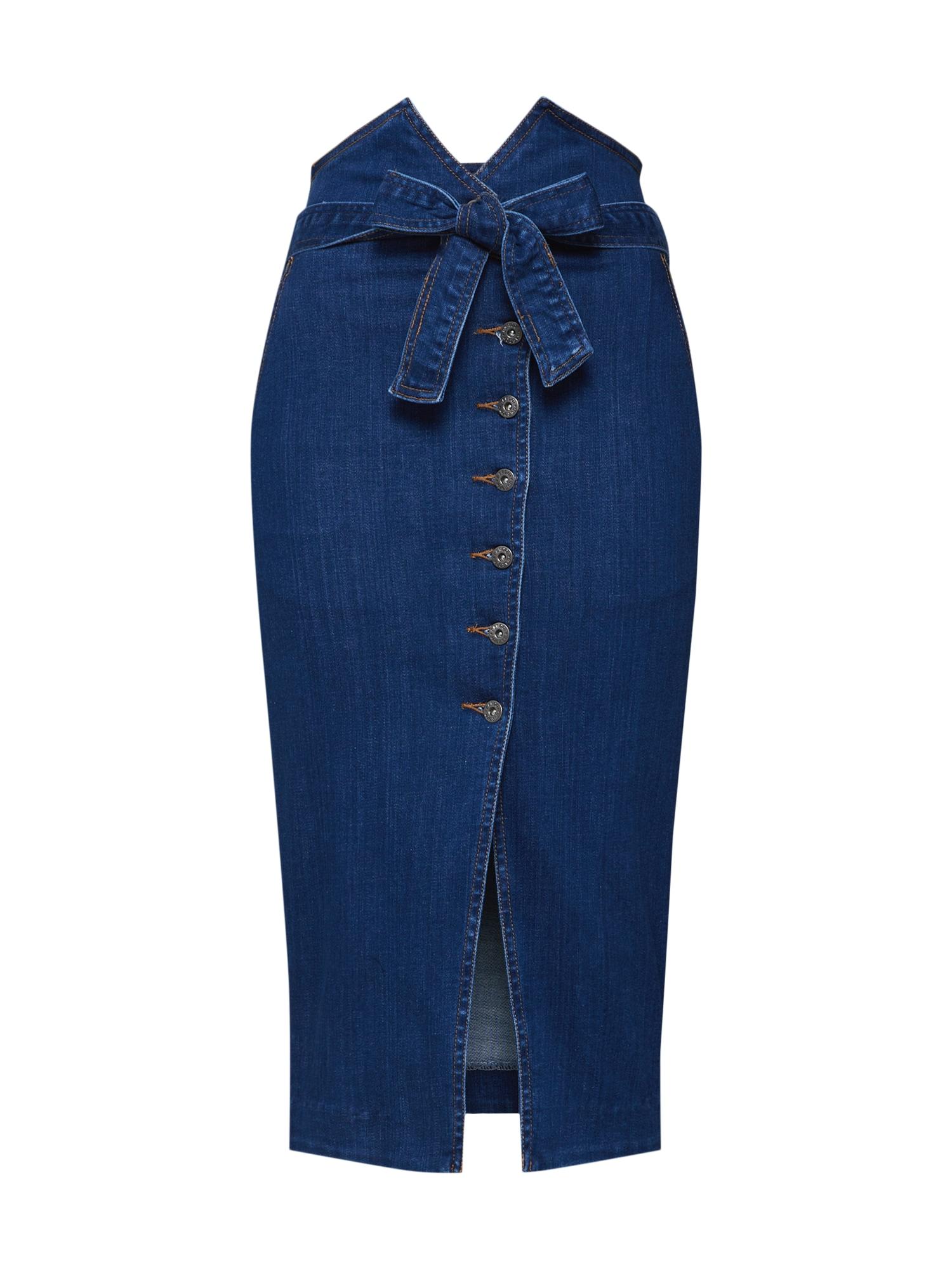 Sukně KYLA modrá Bardot