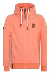 Naketano Herren Zipped Jacket Birol IX orange   04049502576398
