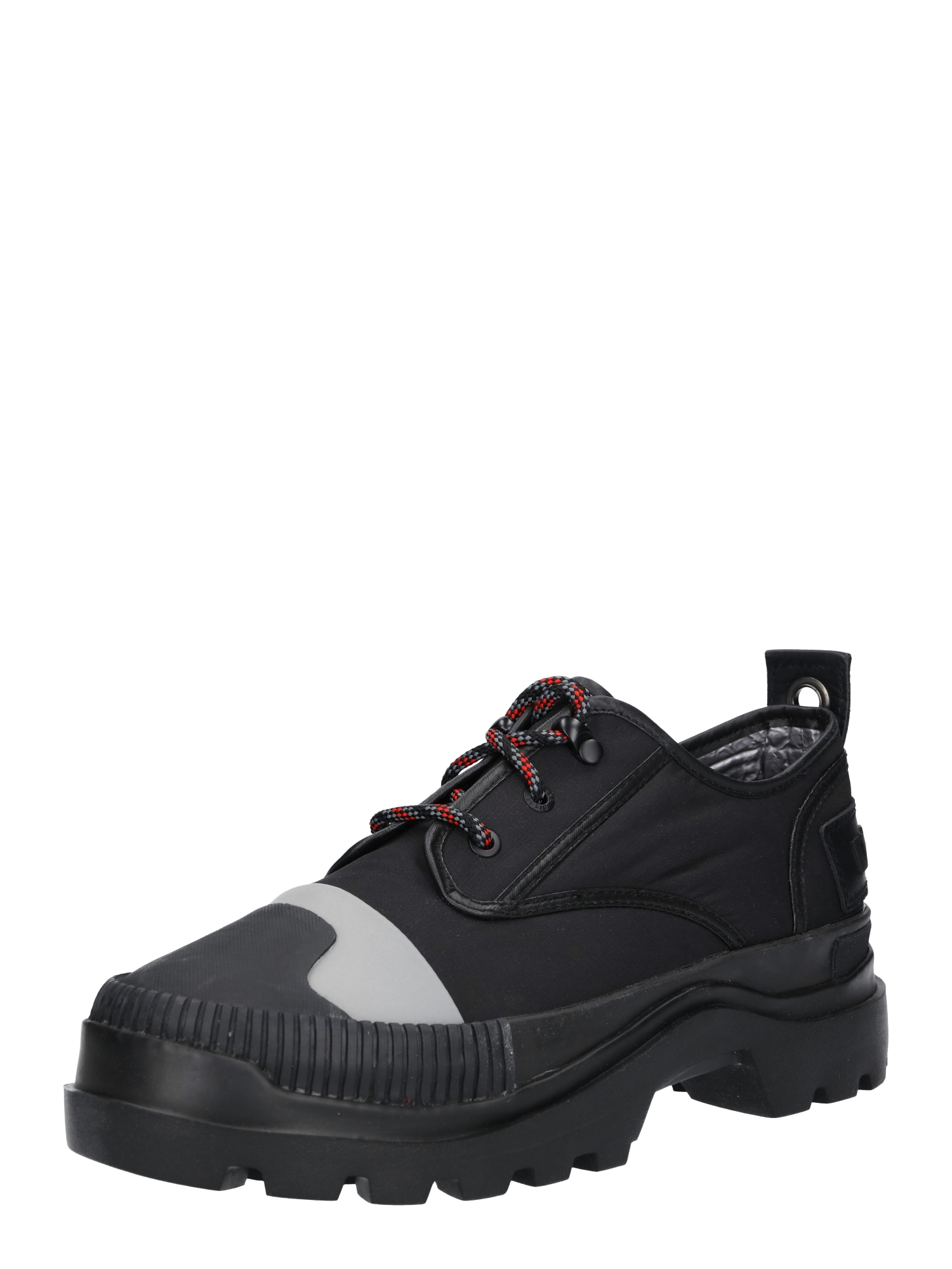 Sportovní šněrovací boty D-Vaiont DBS černá DIESEL