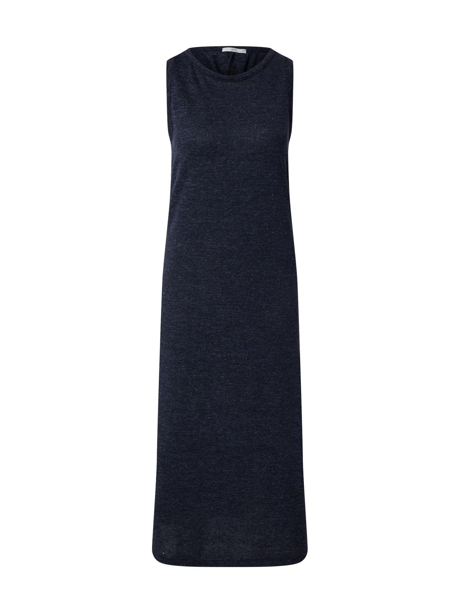 EDC BY ESPRIT Suknelė 'Neppy dress Dresses knitted long' tamsiai mėlyna
