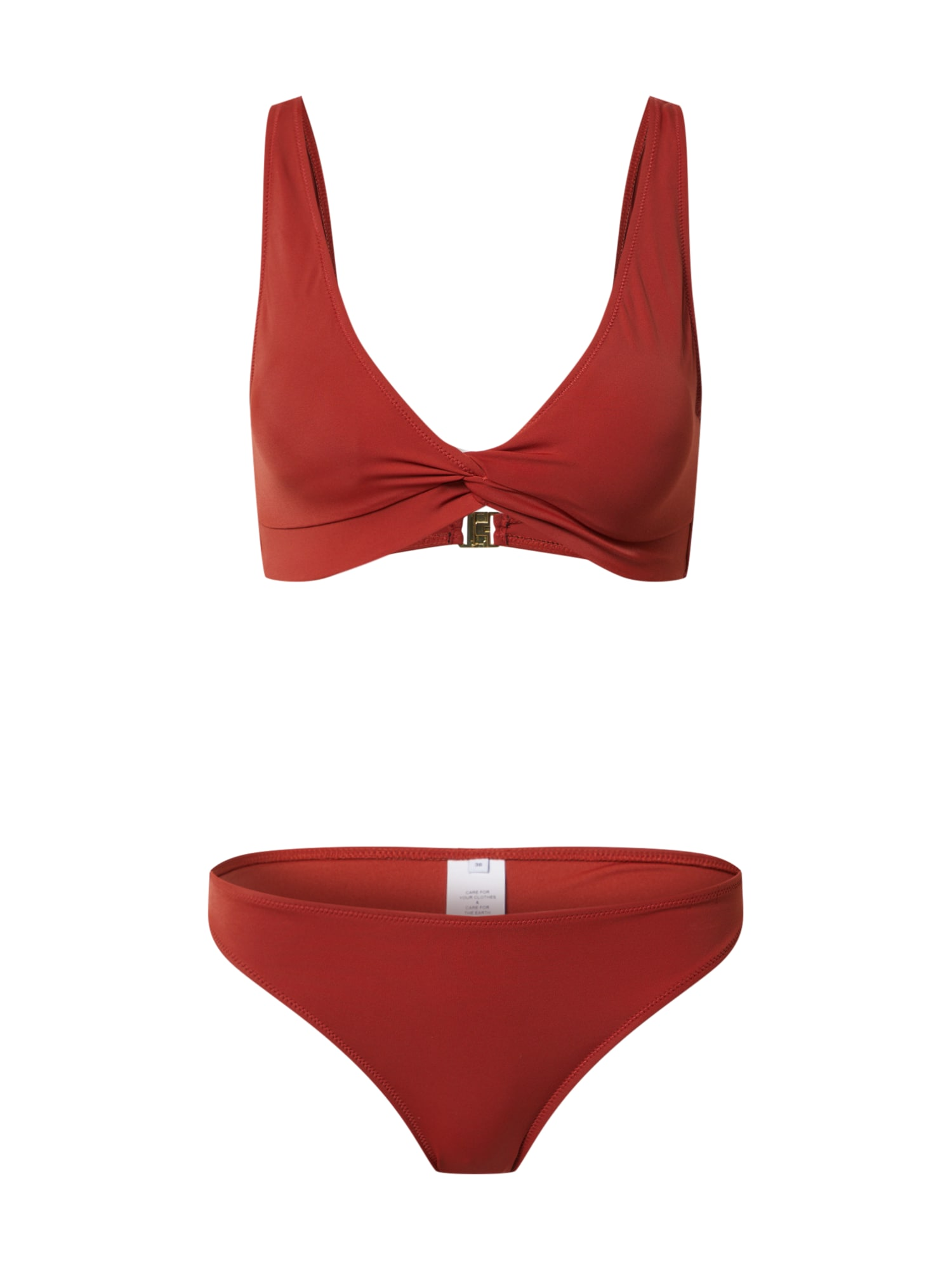 ABOUT YOU Bikinis 'Lusan' rūdžių raudona