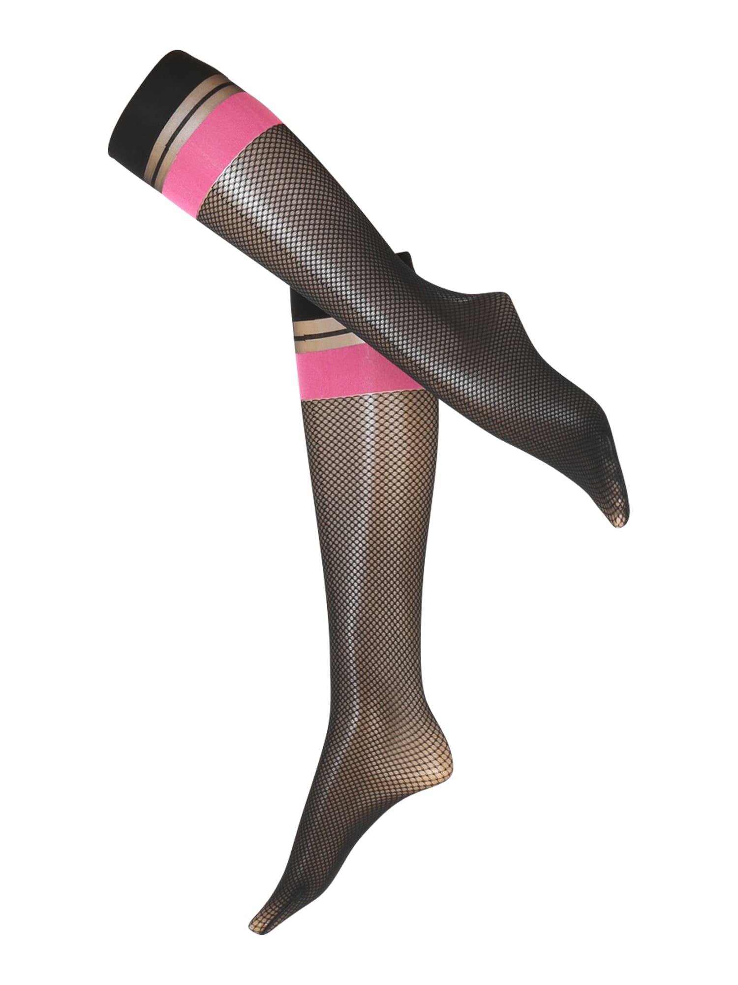 FALKE Madingos prisegamos kojinės rožinė