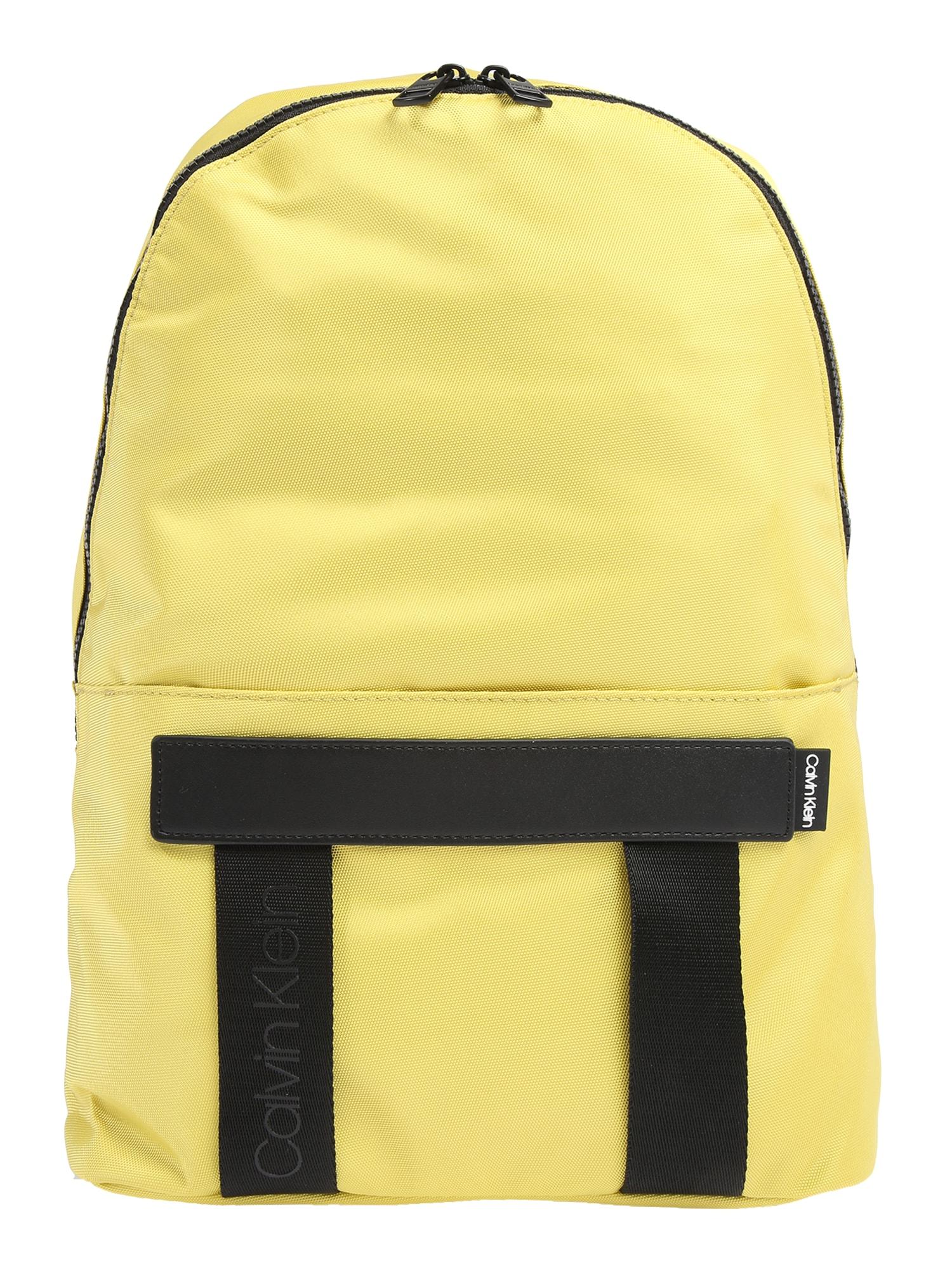 Calvin Klein Kuprinė 'NASTRO' geltona