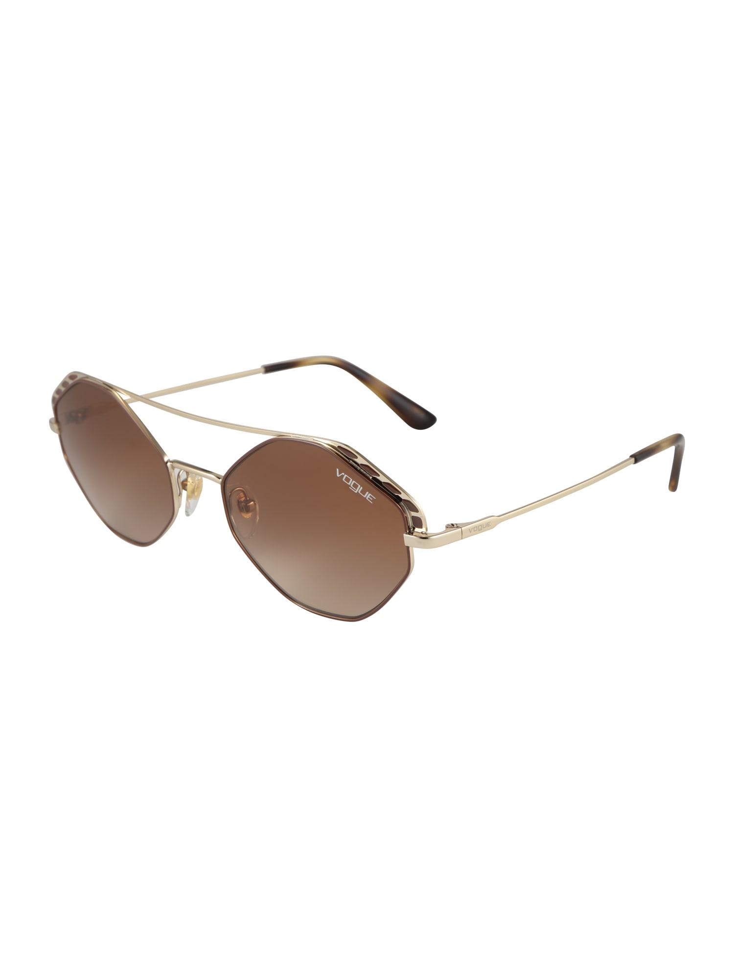 VOGUE Eyewear Slnečné okuliare  zlatá