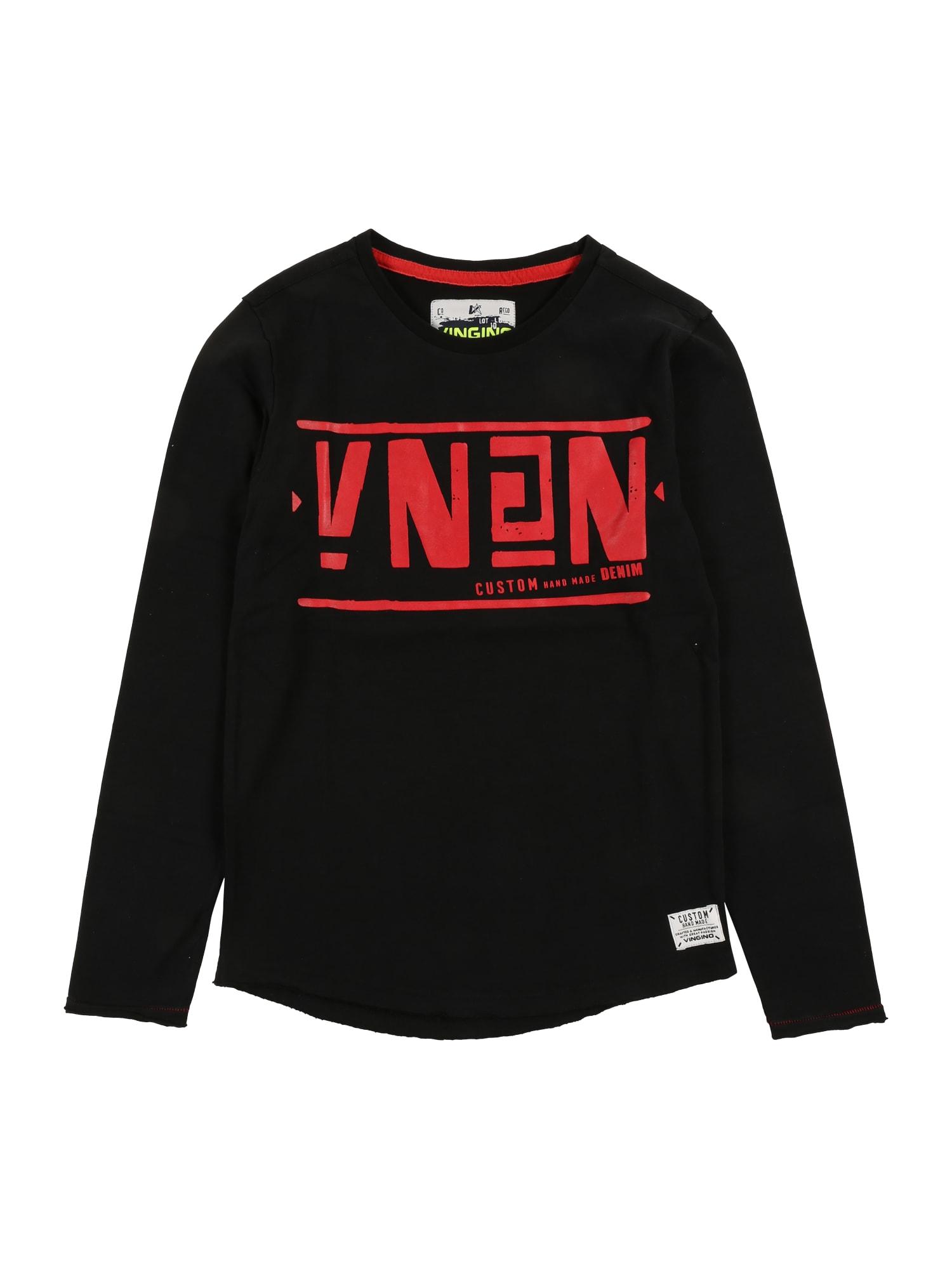 Tričko Jelaino červená černá VINGINO