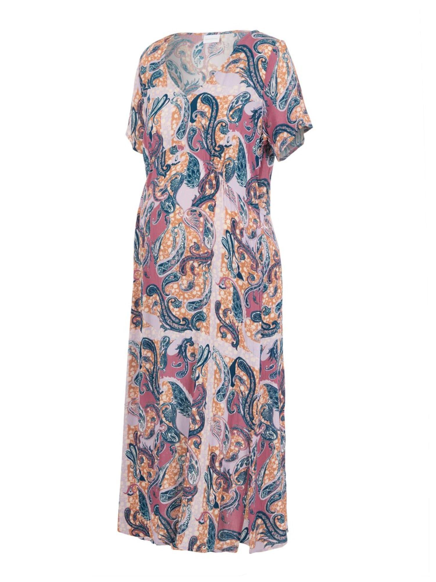 MAMALICIOUS Vasarinė suknelė mišrios spalvos / alyvinė spalva