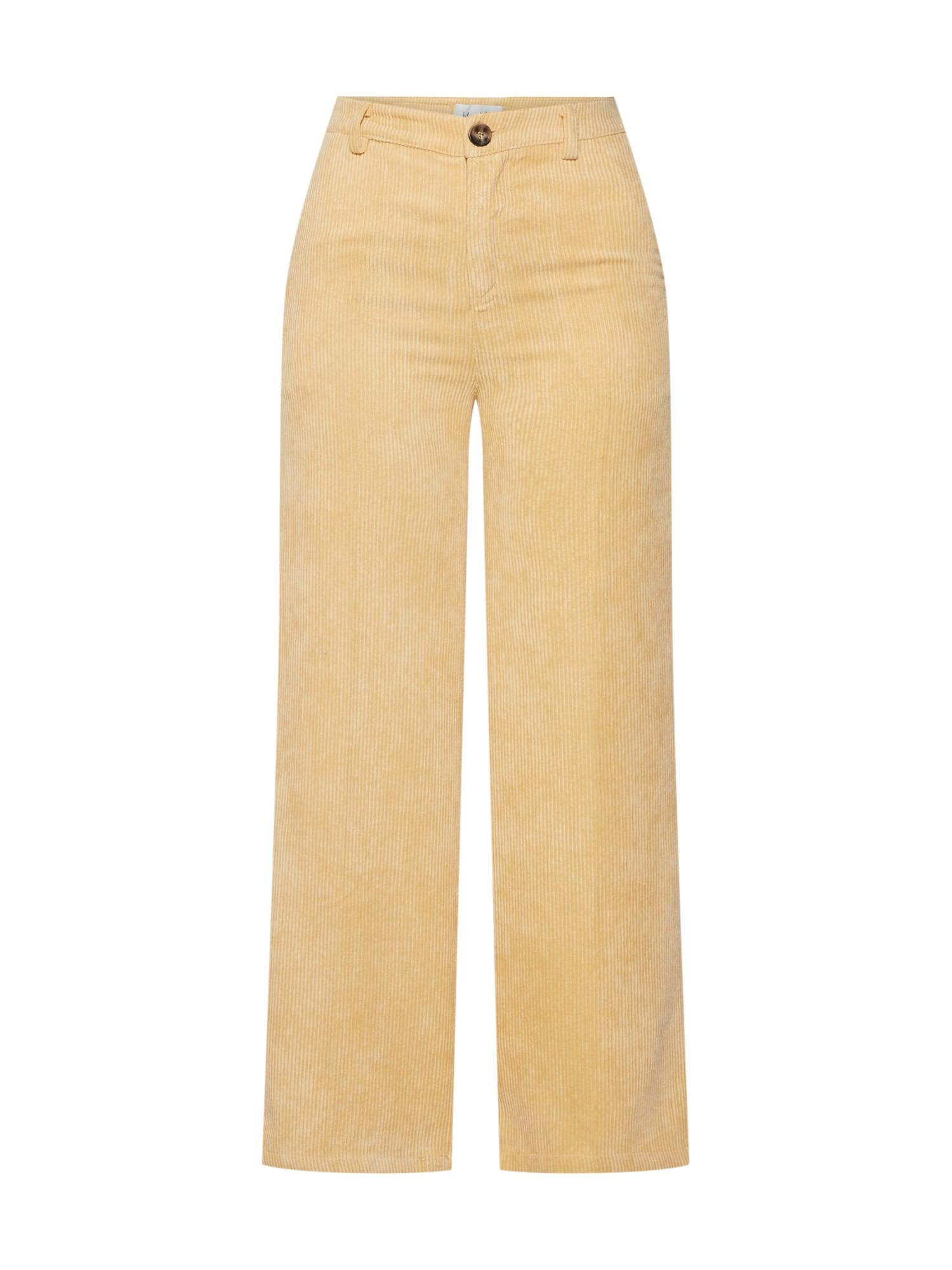 Blend She Kelnės 'BSLONDA' smėlio / geltona