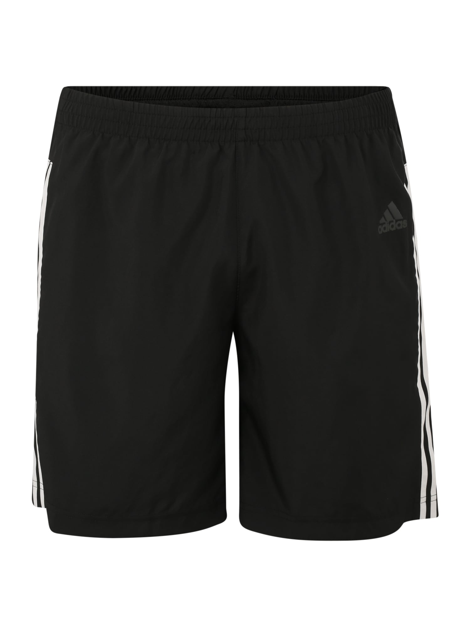 ADIDAS PERFORMANCE Športové nohavice 'RUN IT'  biela / čierna