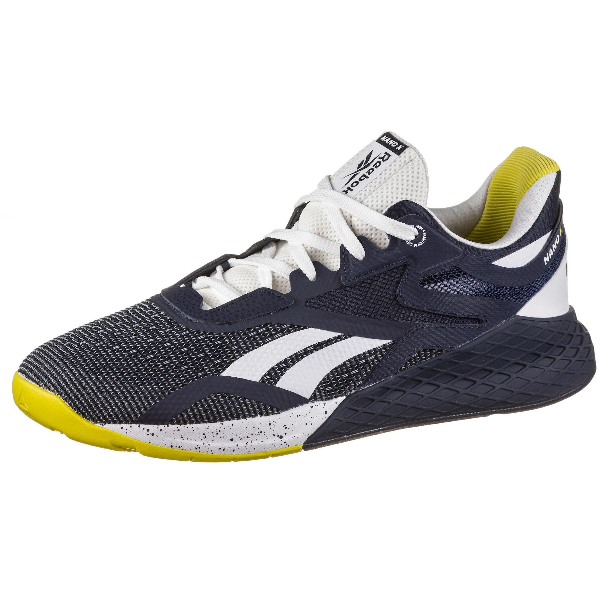 REEBOK Sportiniai batai mėlyna / geltona / balta