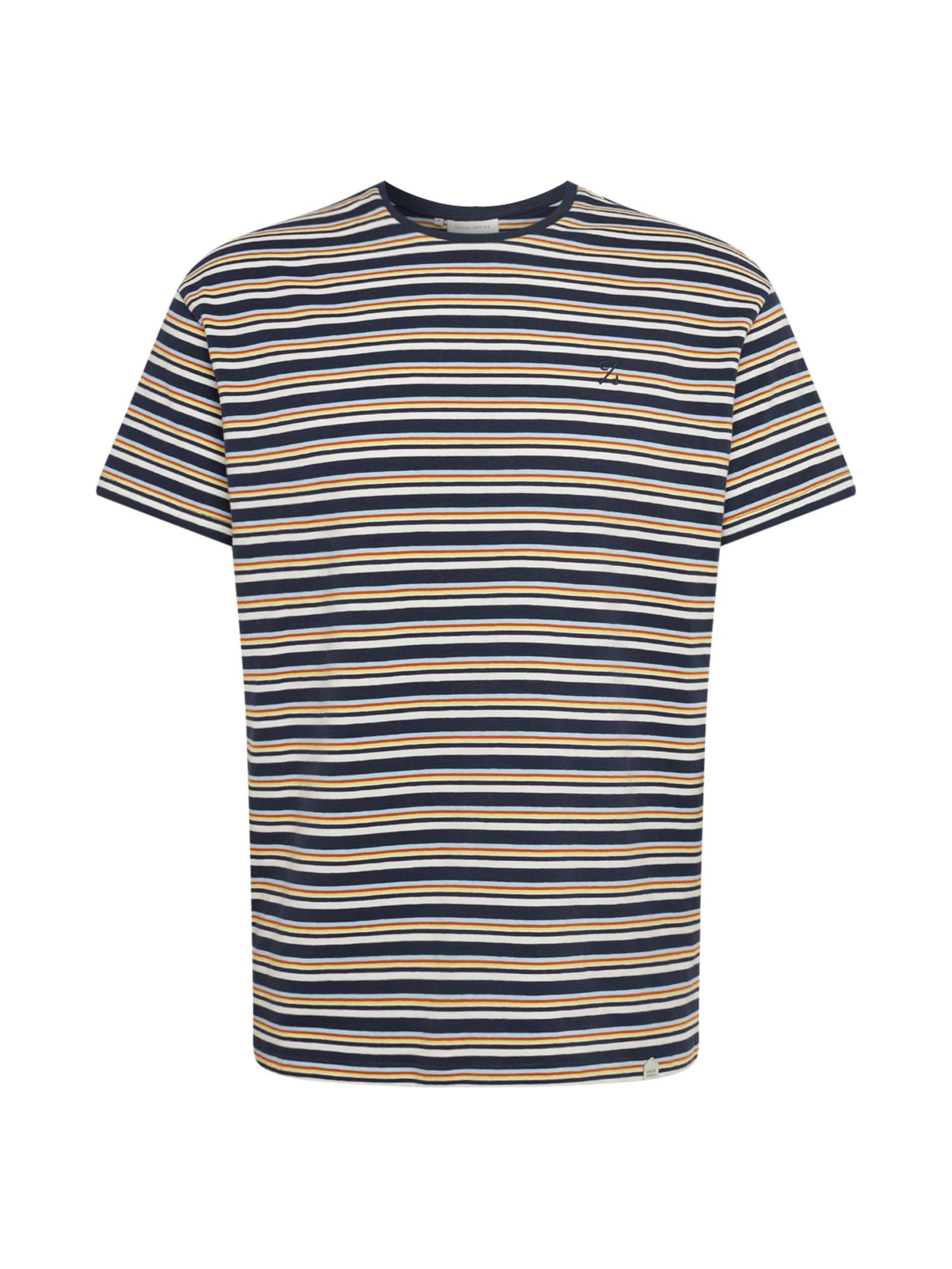 Casual Friday Marškinėliai 'Timo' mišrios spalvos / tamsiai mėlyna