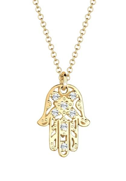 Ketten für Frauen - ELLI Halskette 'Hamsa Hand' gold  - Onlineshop ABOUT YOU