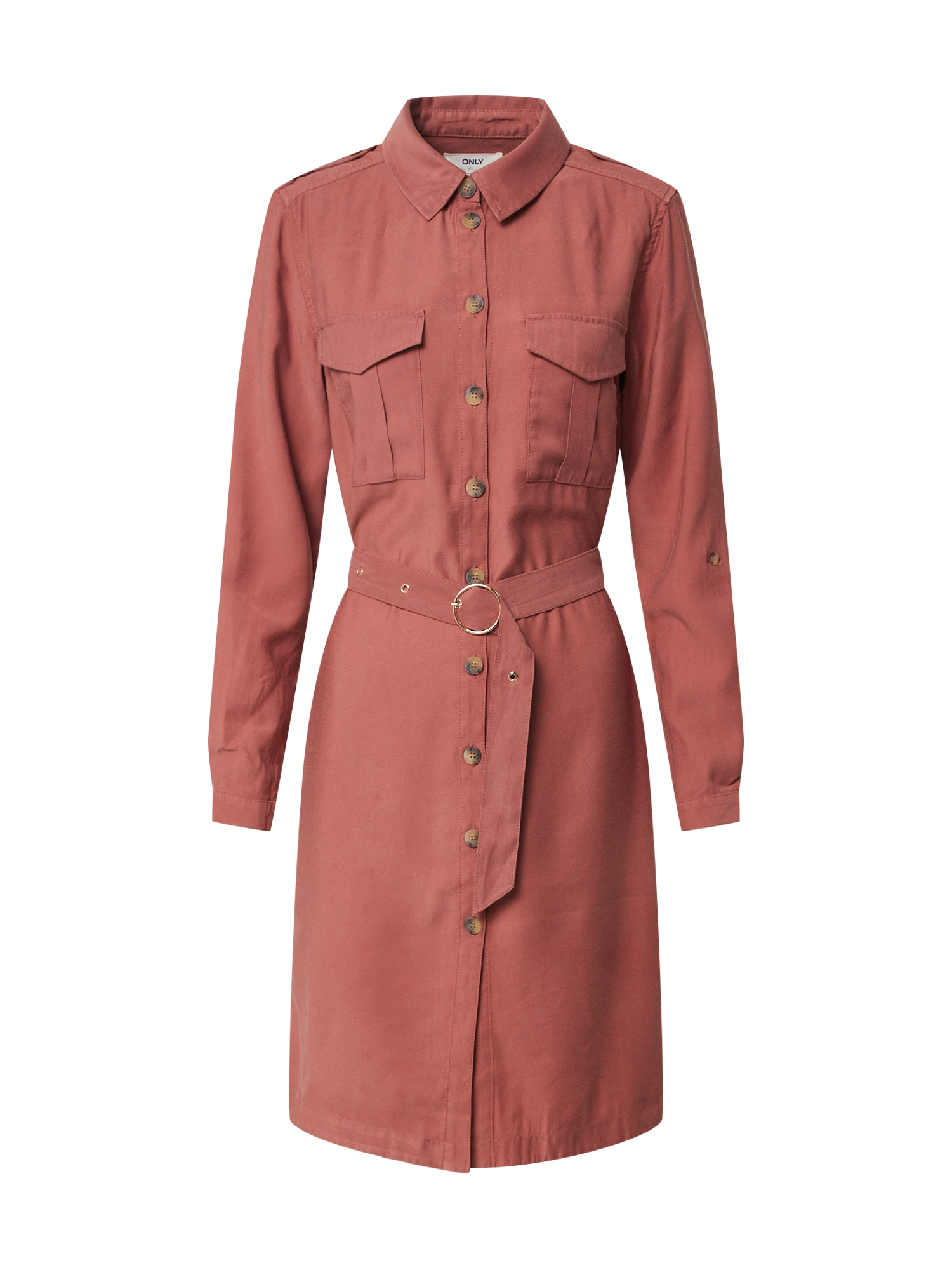 ONLY Košeľové šaty 'ONLACACIA-ARIS SHIRT DRESS PNT'  melónová