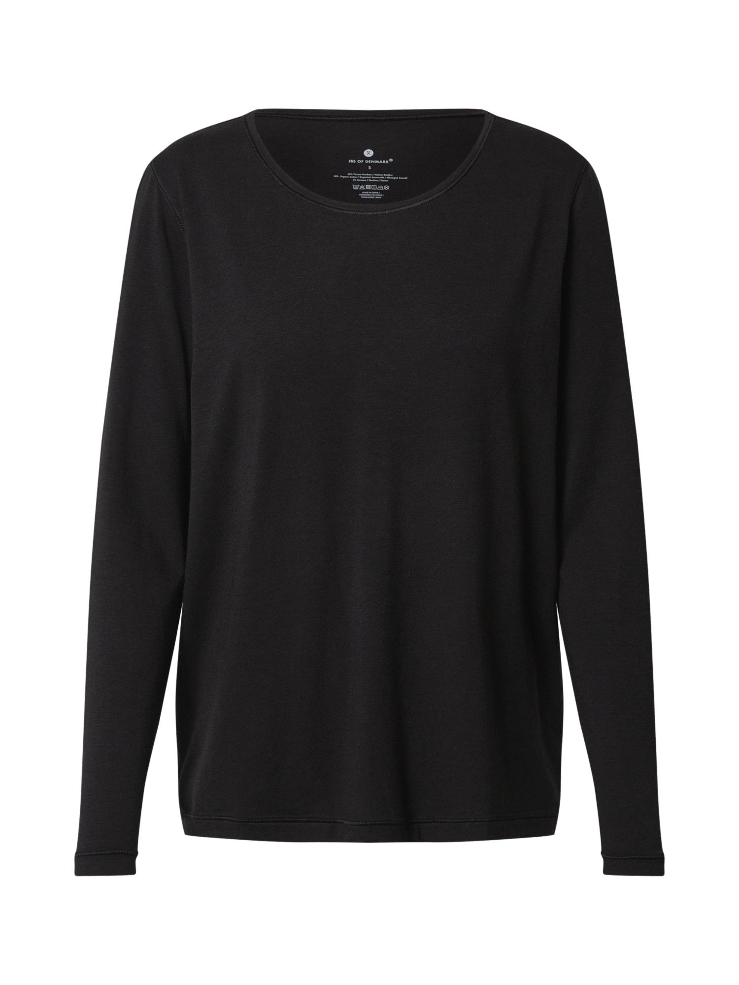 JBS OF DENMARK Pižaminiai marškinėliai juoda