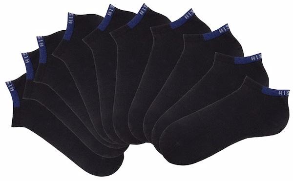 Socken für Frauen - H.I.S Sneakersocken schwarz  - Onlineshop ABOUT YOU