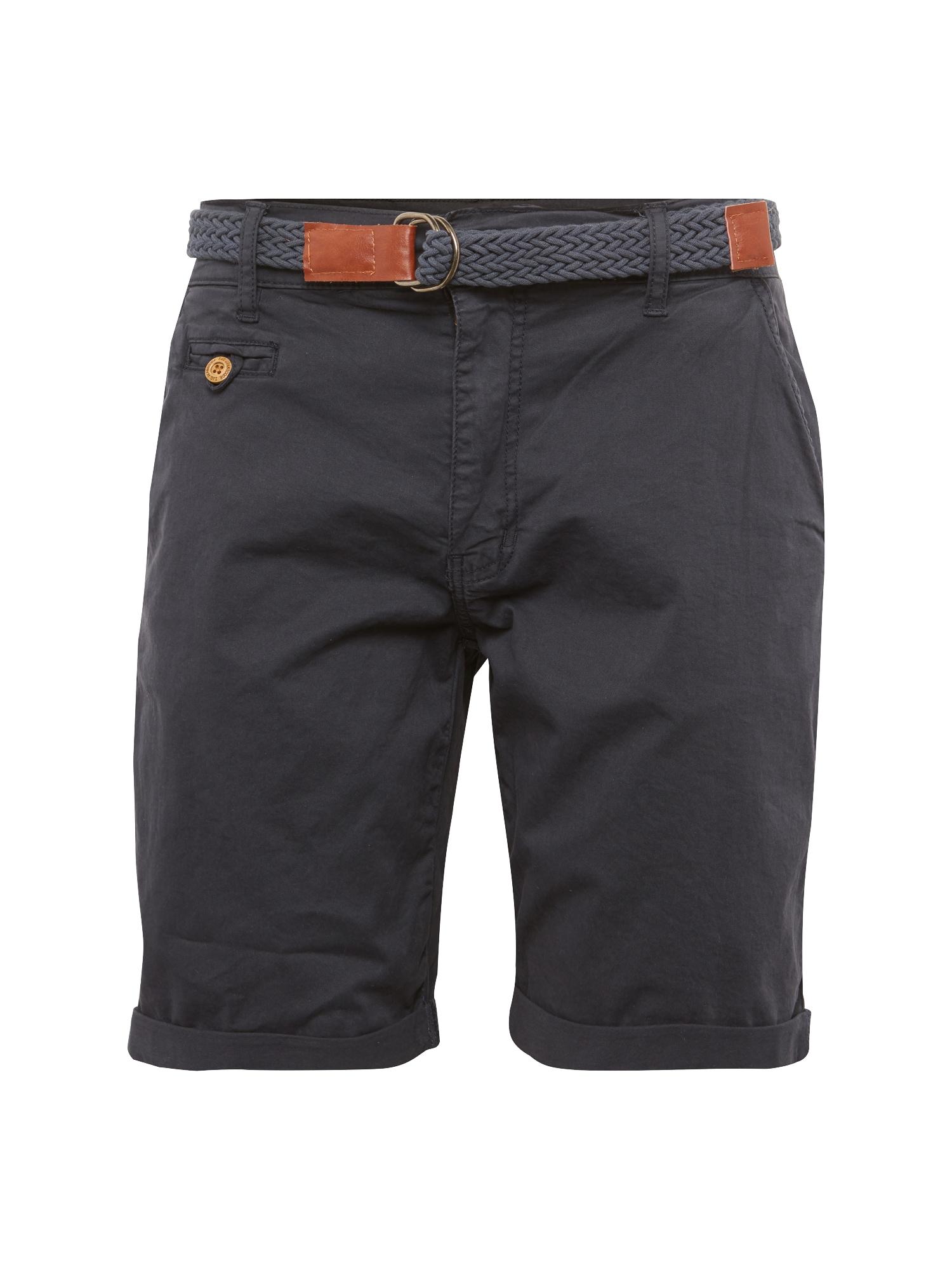 INDICODE JEANS Chino stiliaus kelnės 'Conor' mėlyna