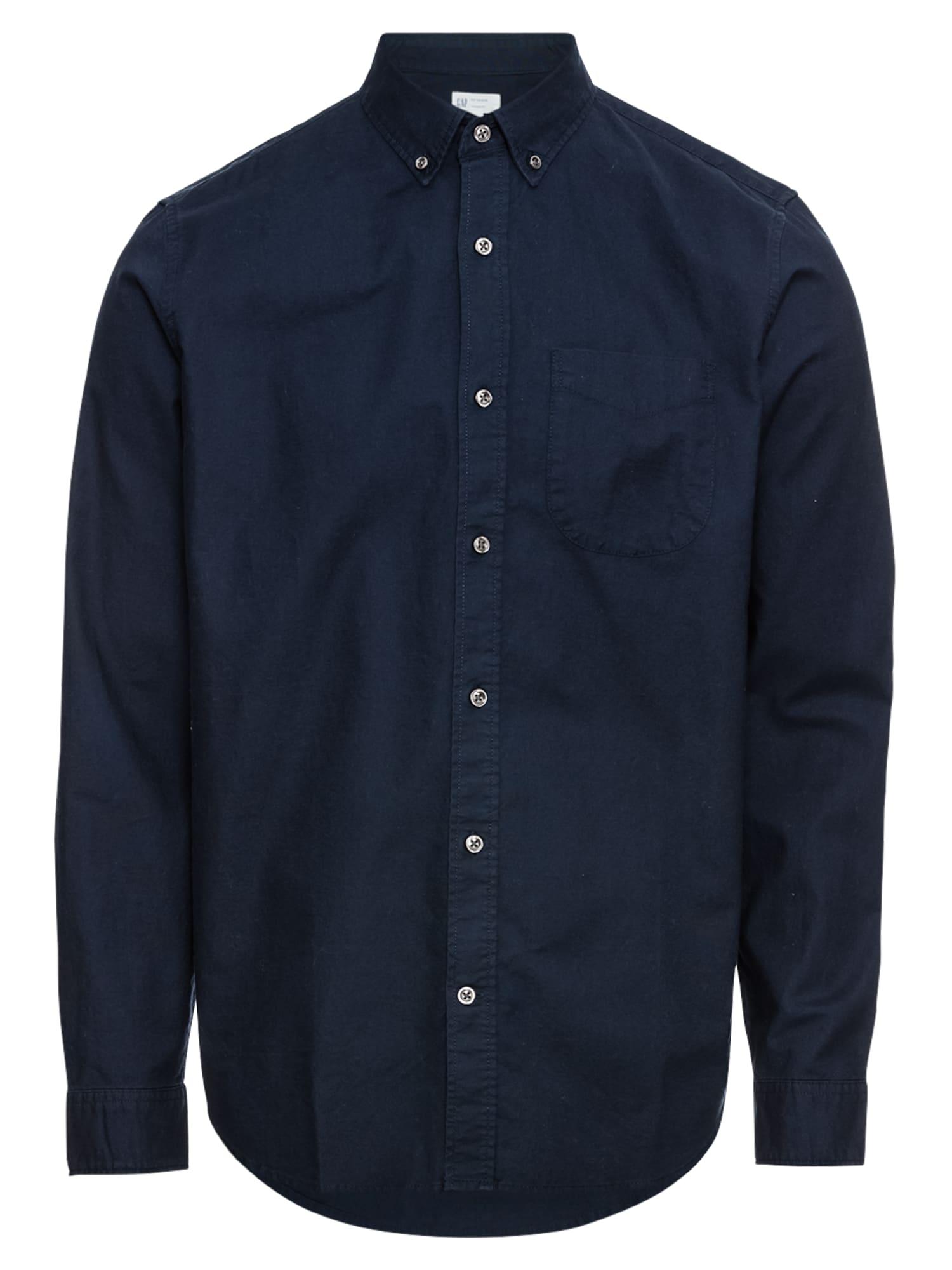 Košile V-OXFORD STANDARD námořnická modř GAP