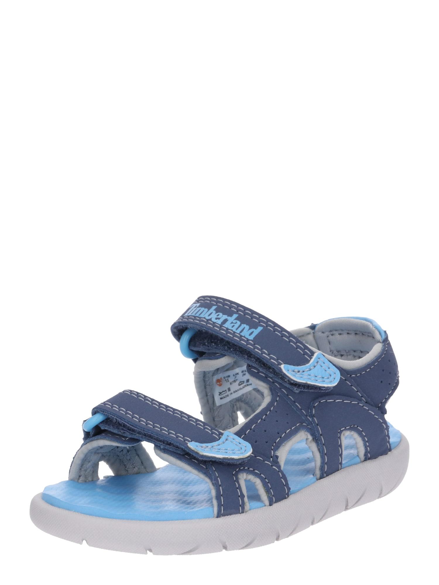 Otevřená obuv Perkins modrá světlemodrá TIMBERLAND