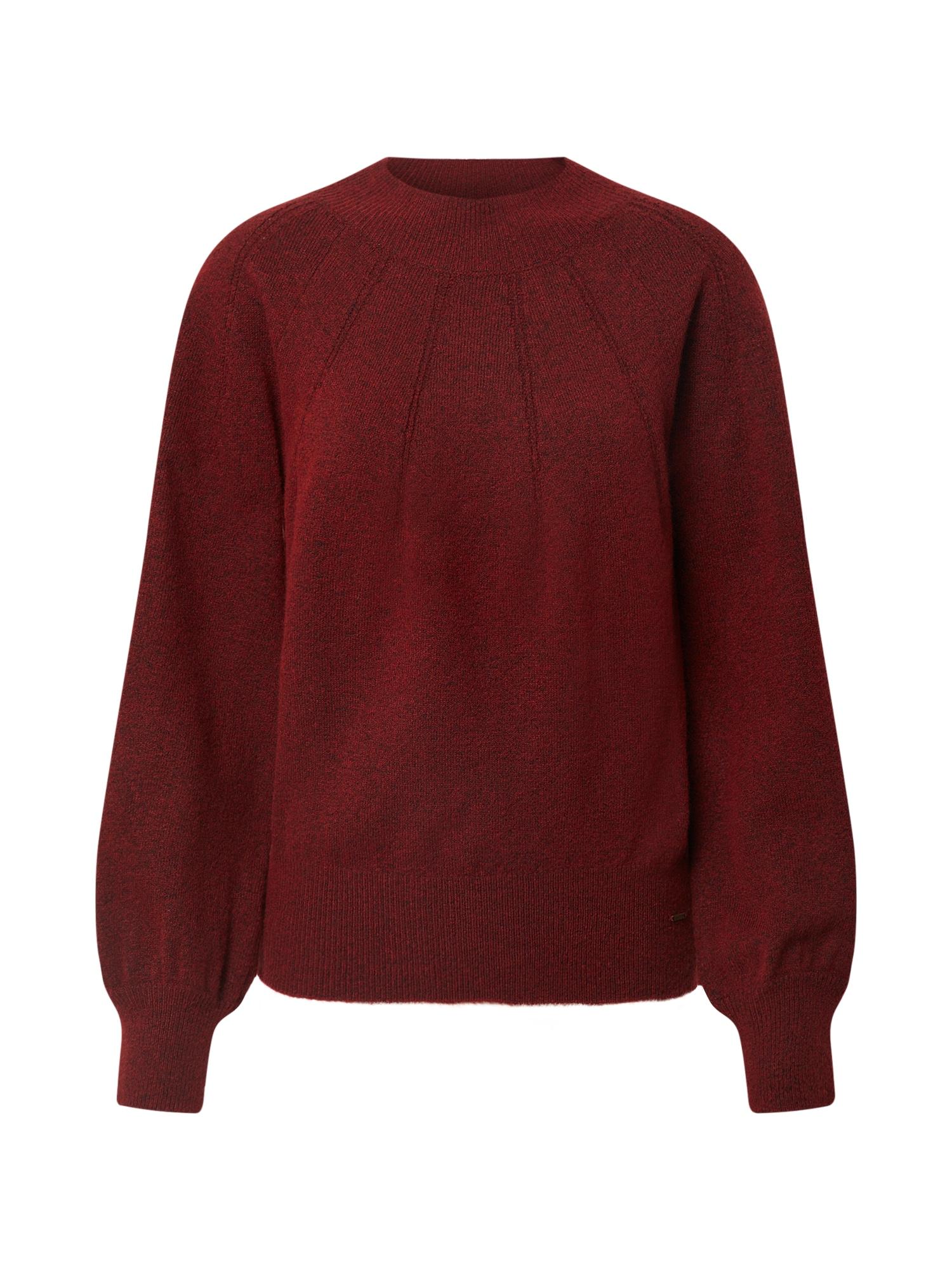 Pepe Jeans Svetr 'Clotilda'  rezavě červená