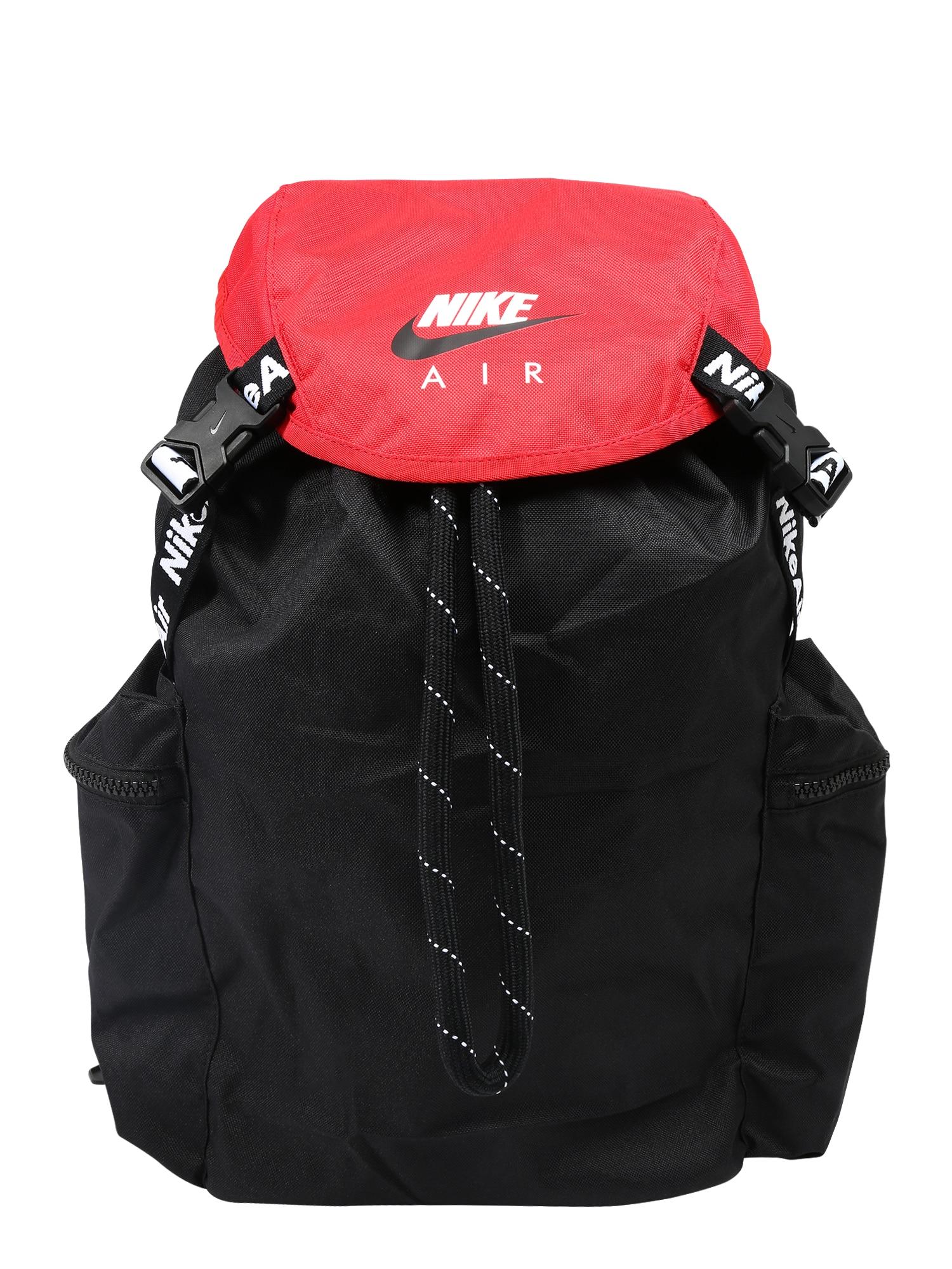 Nike Sportswear Batoh  bílá / černá / červená