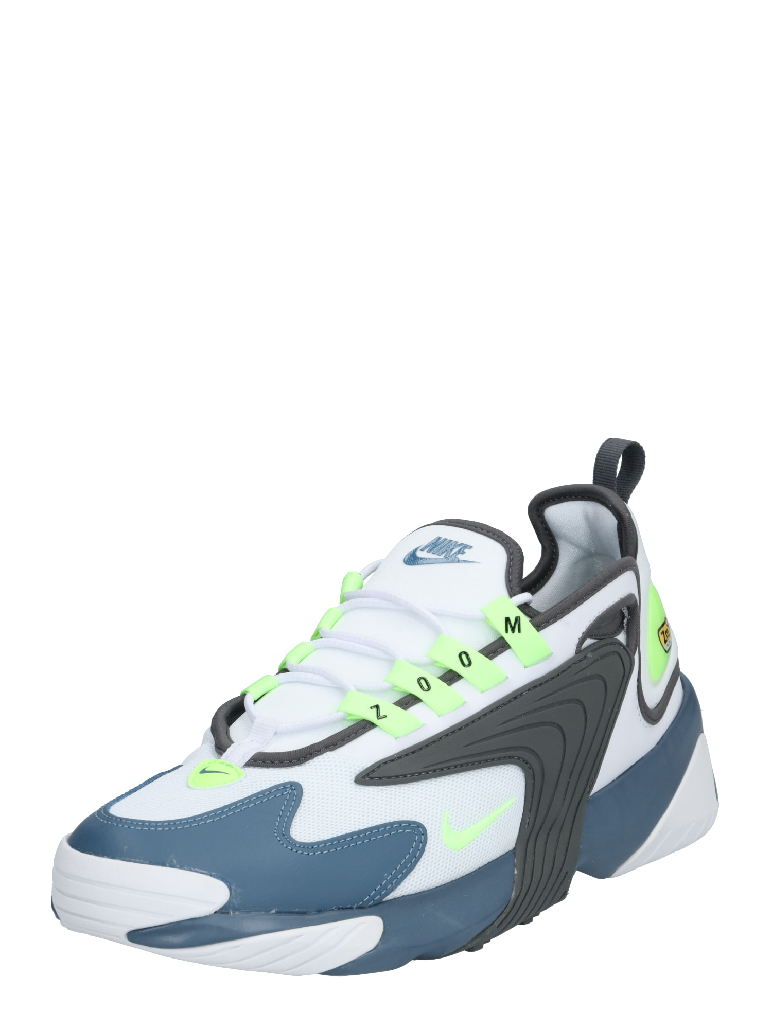 Nike Sportswear Sportbačiai be auliuko 'Nike Zoom 2K' mėlyna / balta / pilka