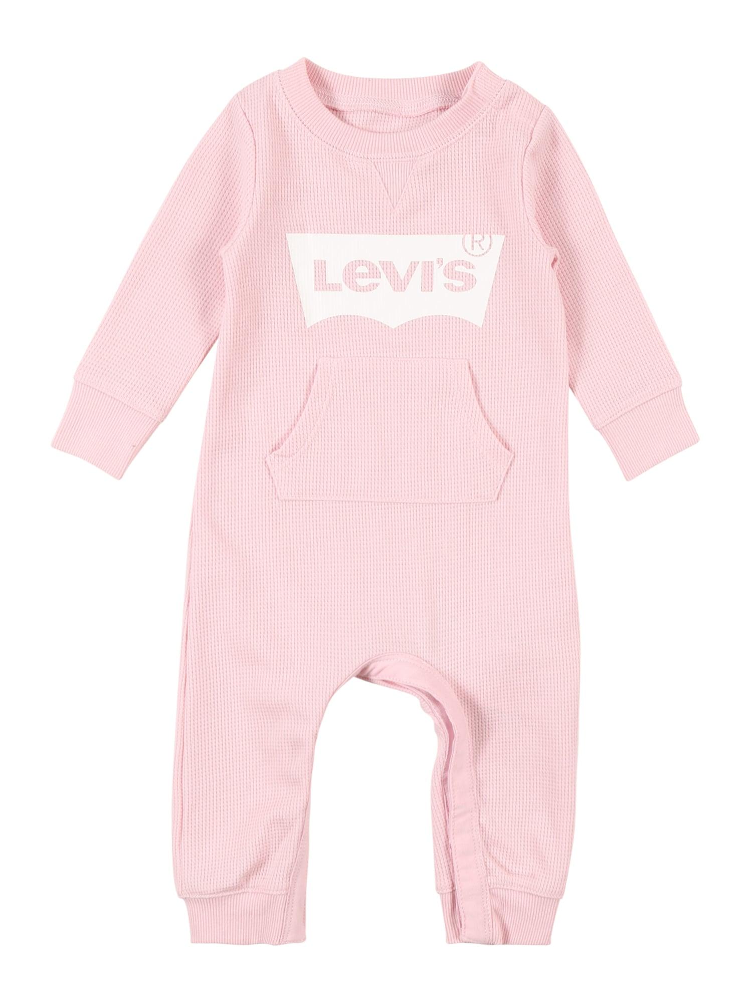 LEVI'S Overal  růžová / bílá