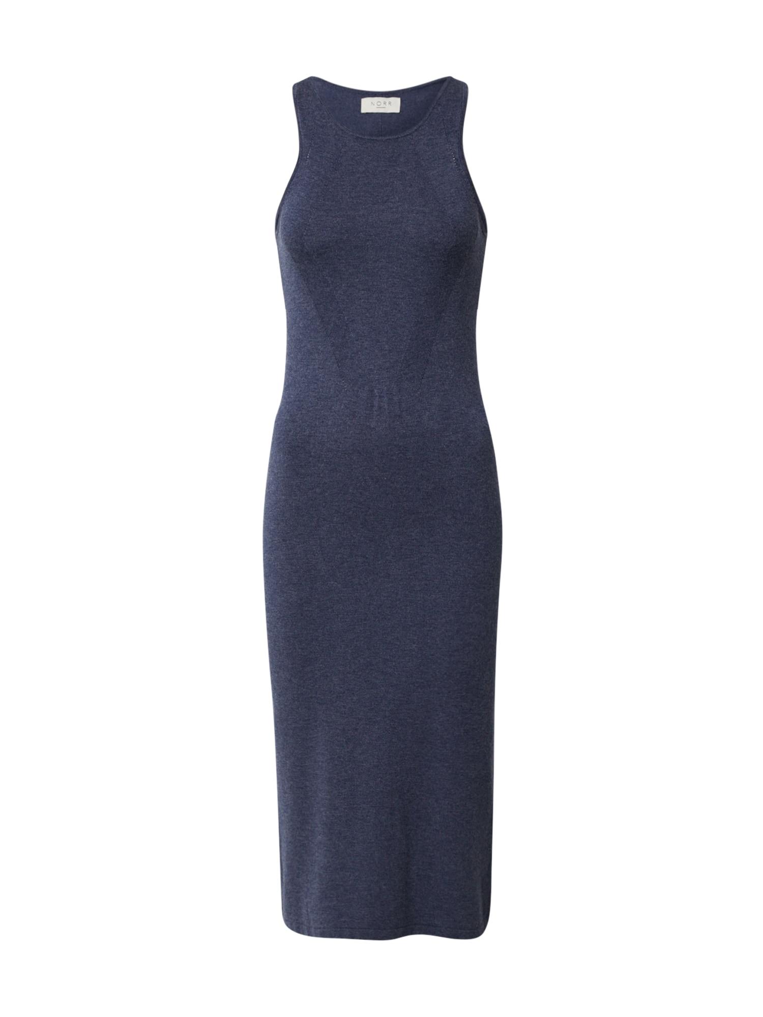 NORR Megzta suknelė 'Chloe' tamsiai mėlyna