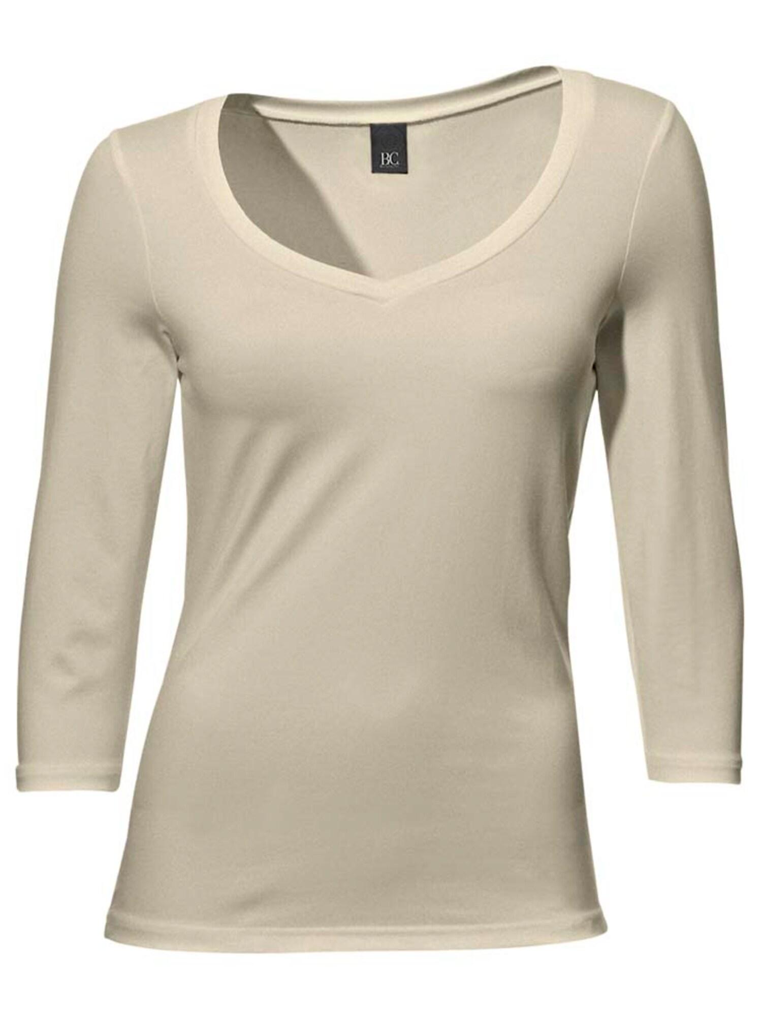 Ashley Brooke by heine Marškinėliai smėlio spalva